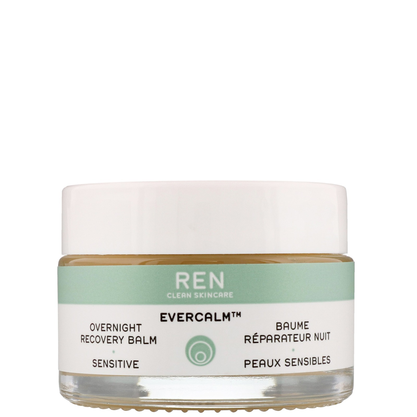REN Clean Skincare Face Evercalm Overnight Recovery Balm 30ml / 1.02 fl.oz.