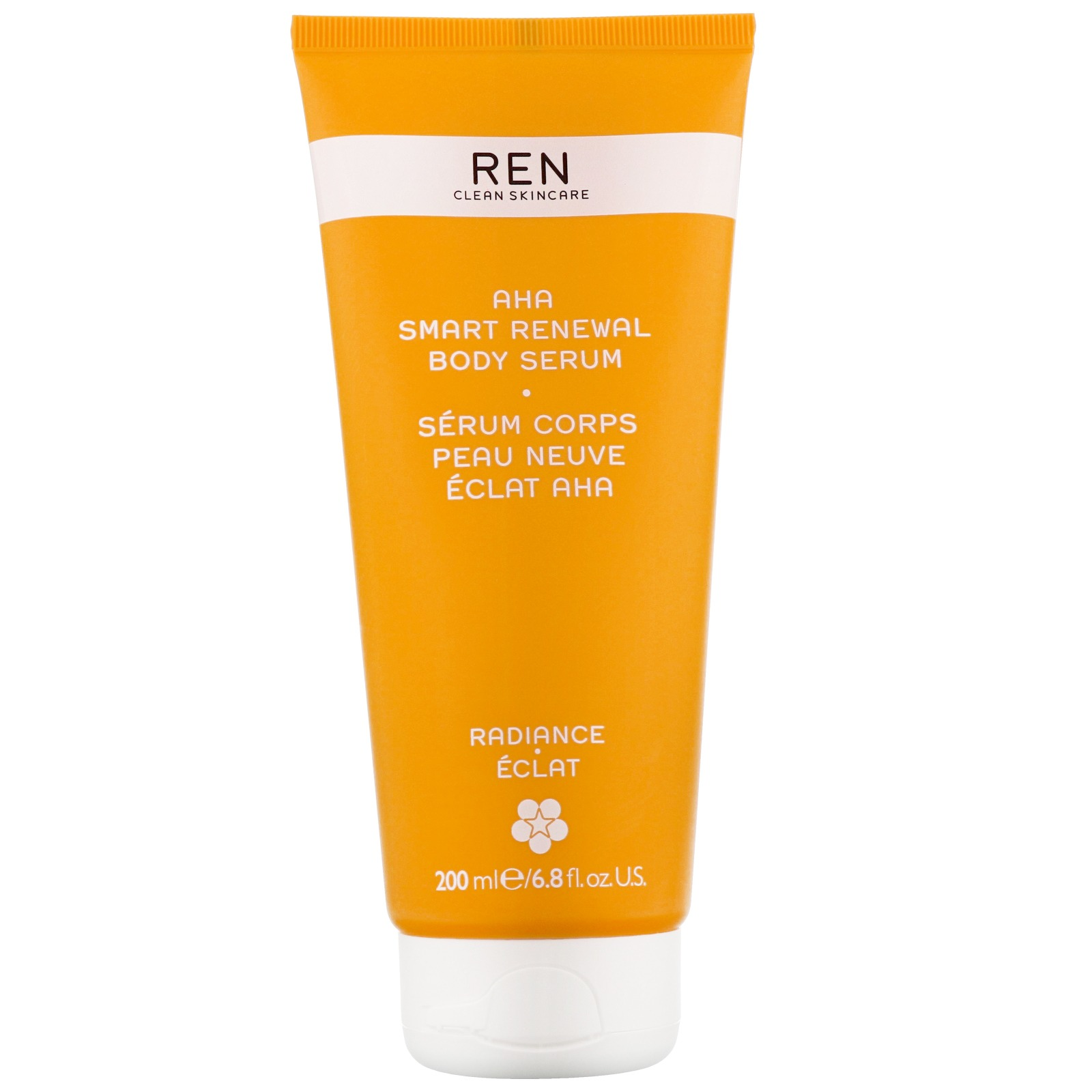 REN Clean Skincare Body  AHA Smart Renewal Body Serum 200ml / 6.8 fl.oz.
