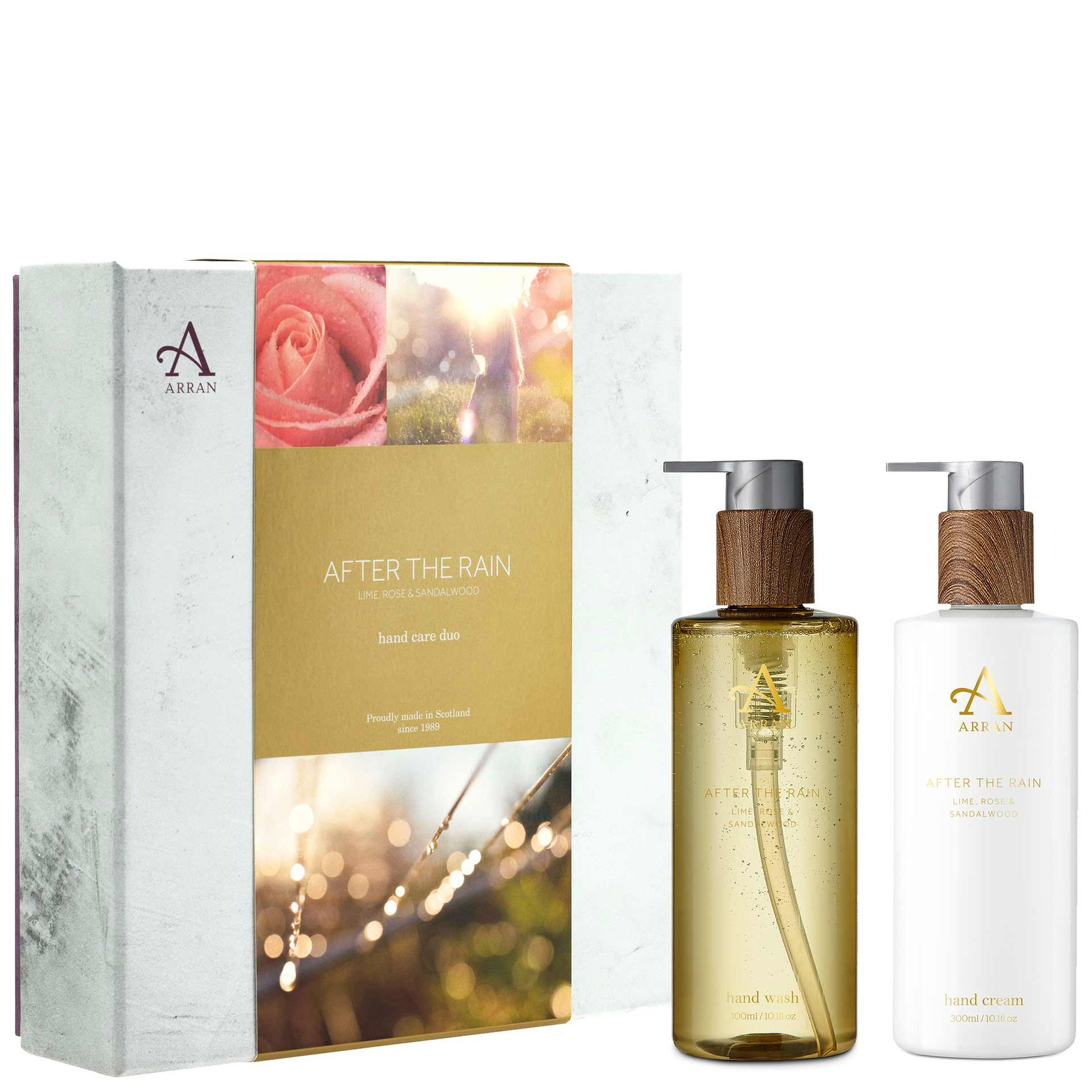 ARRAN Sense of Scotland Gifts After The Rain Hand Care Gift Set