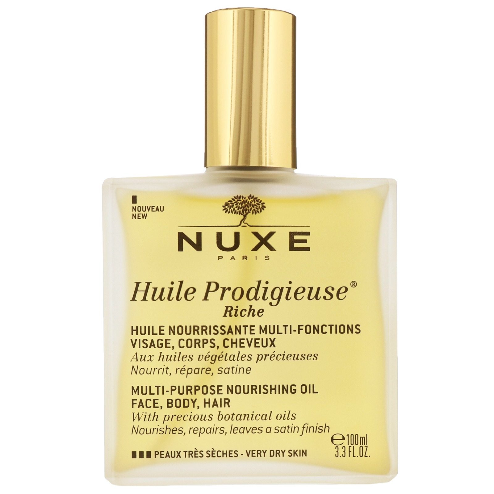Nuxe Huile Prodigieuse Riche Multi-Purpose Dry Oil Spray 100ml