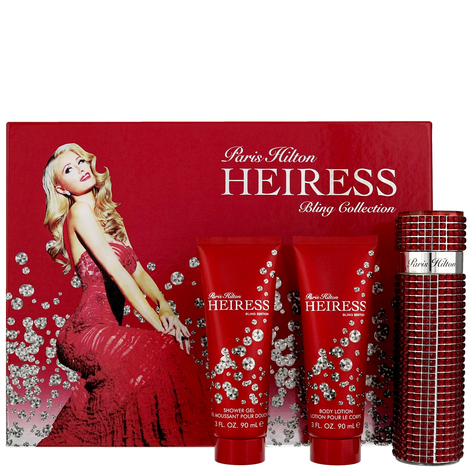 Paris Hilton Heiress Bling Collection Eau de Parfum Spray 100ml Gift Set