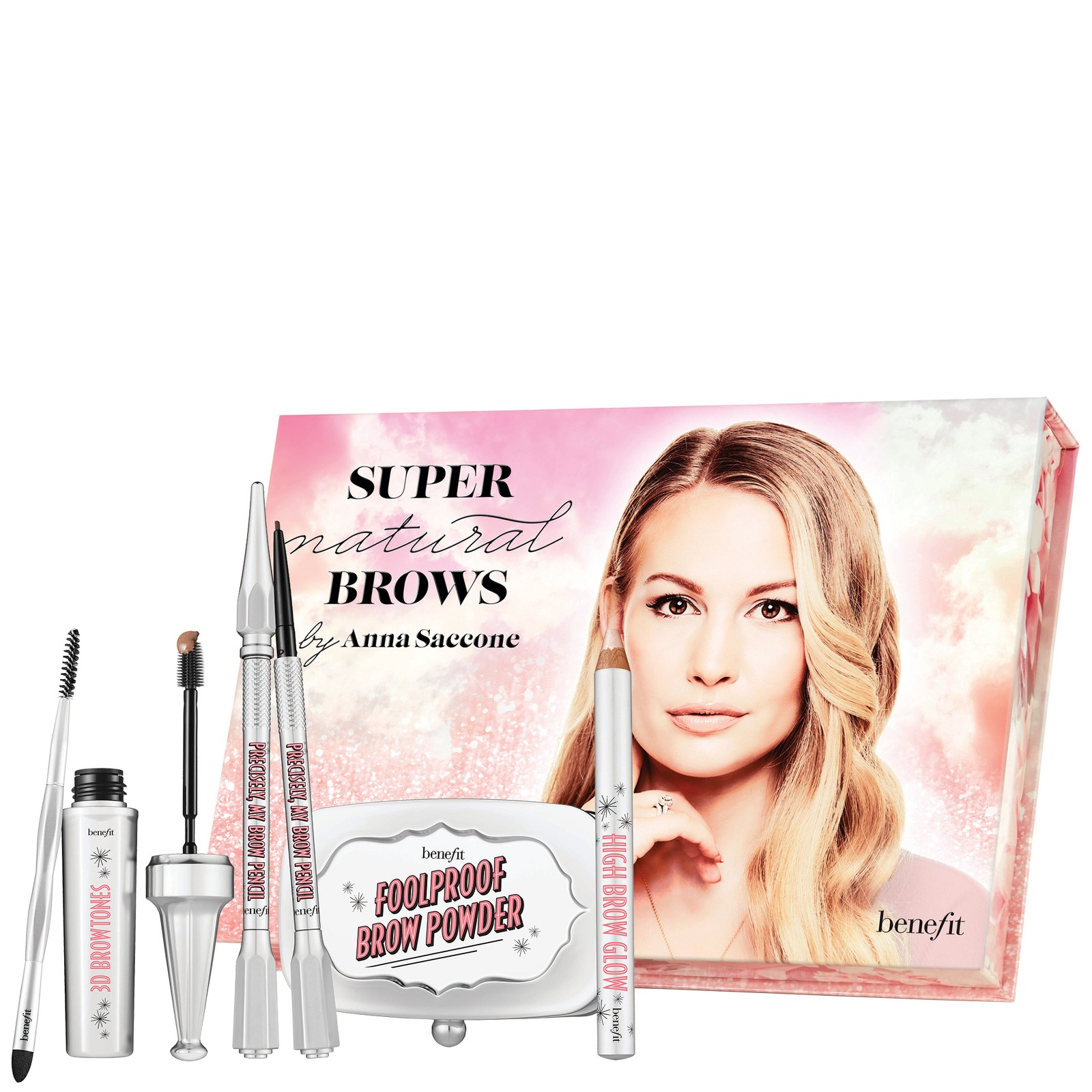 benefit Gifts & Sets Super Natural Brows by Anna Saccone (Worth £117.00)