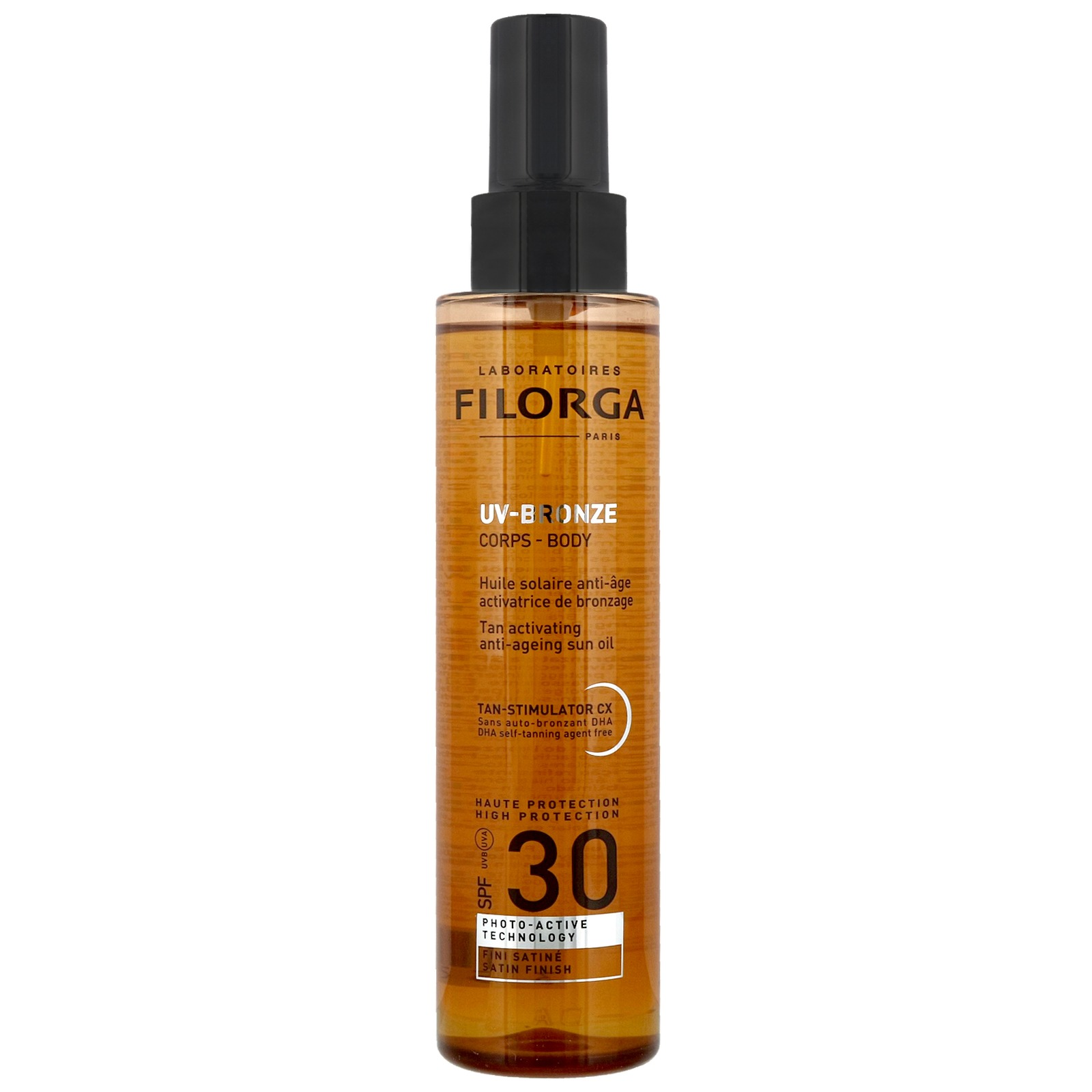 Body: Tan Activating Anti Ageing Sun Oil Spf30 150ml by Filorga