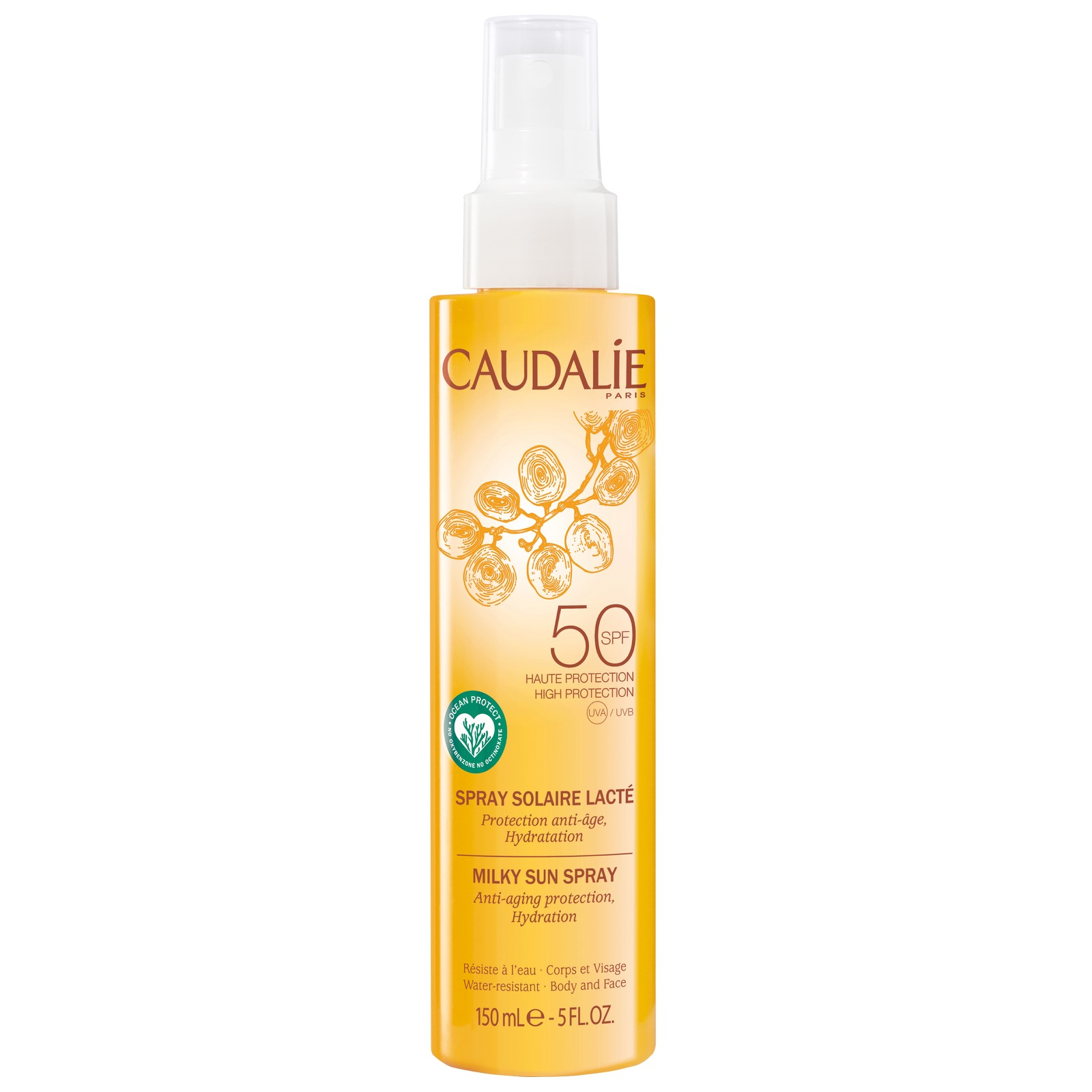 Caudalie Sun & Tan Milky Sun Spray SPF50 150ml