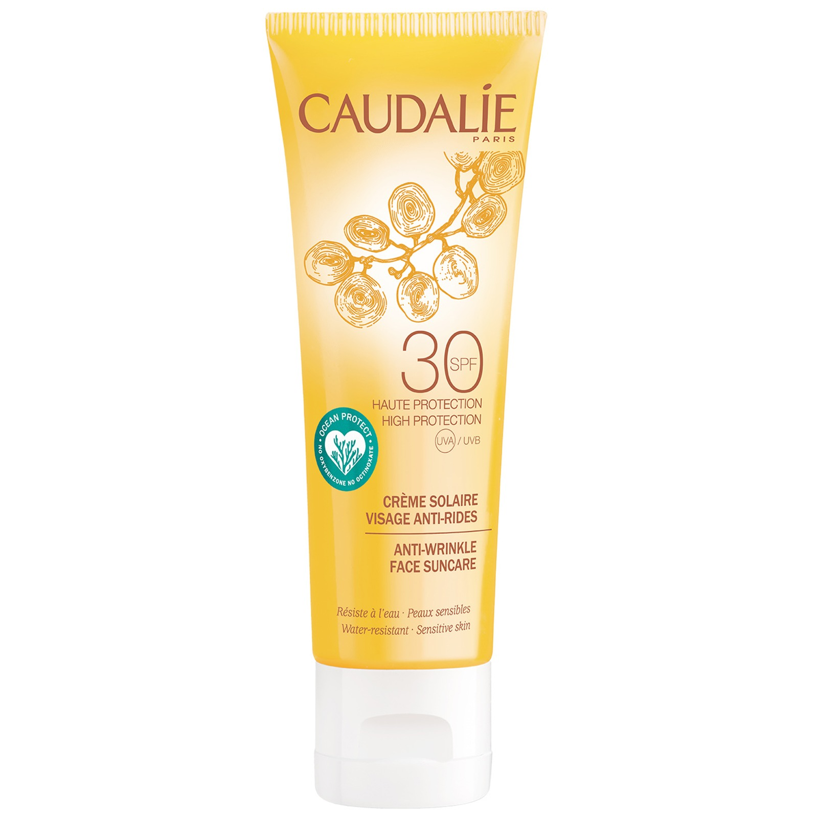 Caudalie Sun & Tan Anti-Wrinkle Face Suncare SPF30 50ml