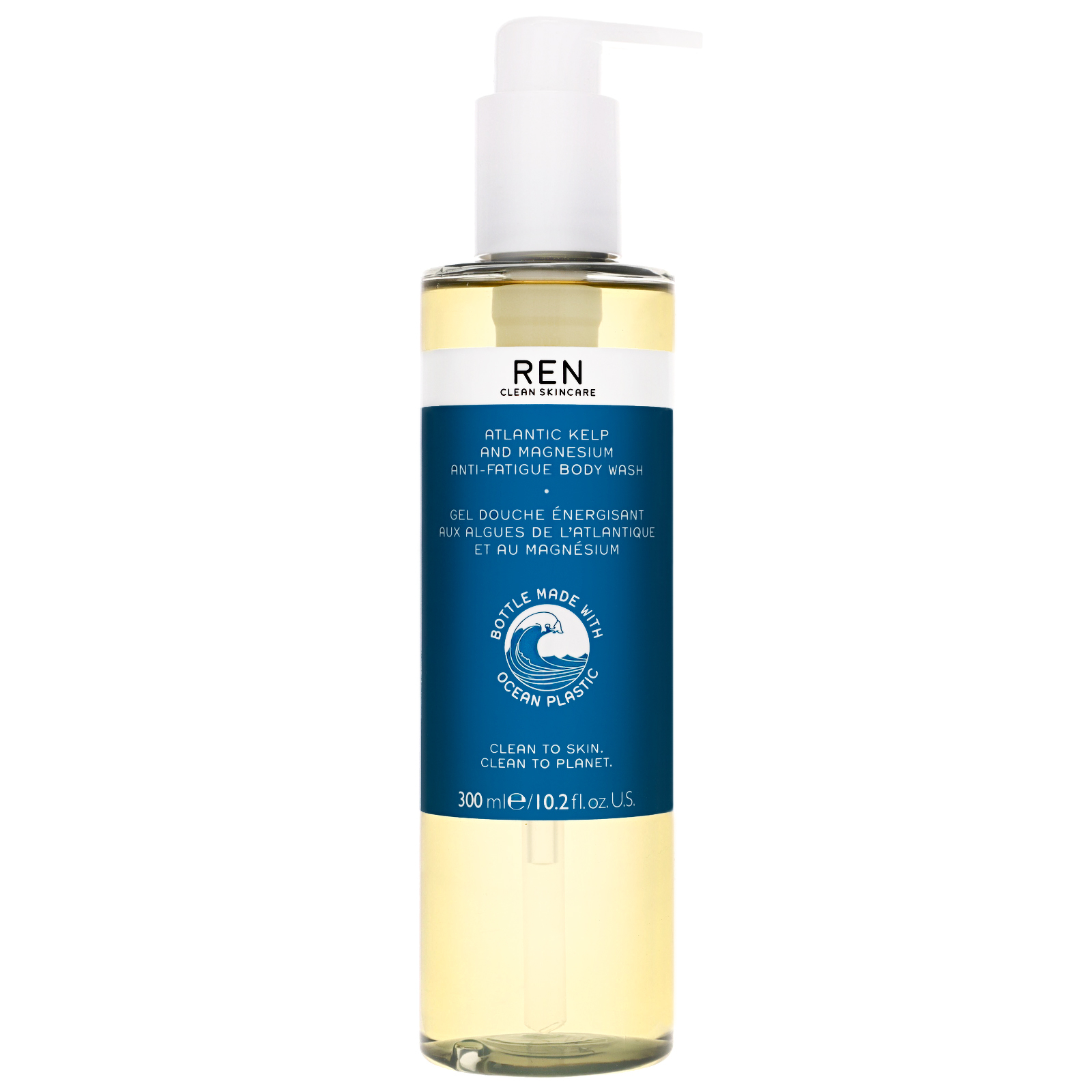 REN Clean Skincare Body  Atlantic Kelp and Magnesium Body Wash Limited Edition 300ml / 10.2 fl.oz.