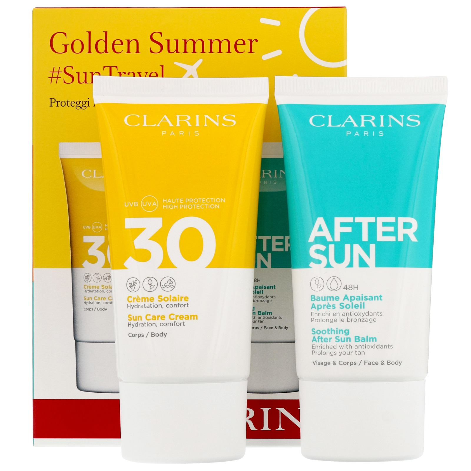 Clarins Gifts & Sets Golden Summer Travel Duo