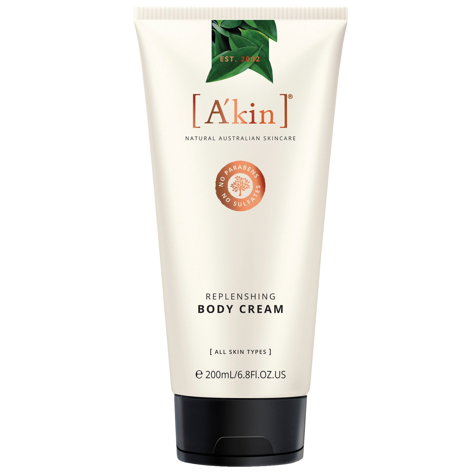 A'kin Hand & Body Replenishing Body Cream 200ml