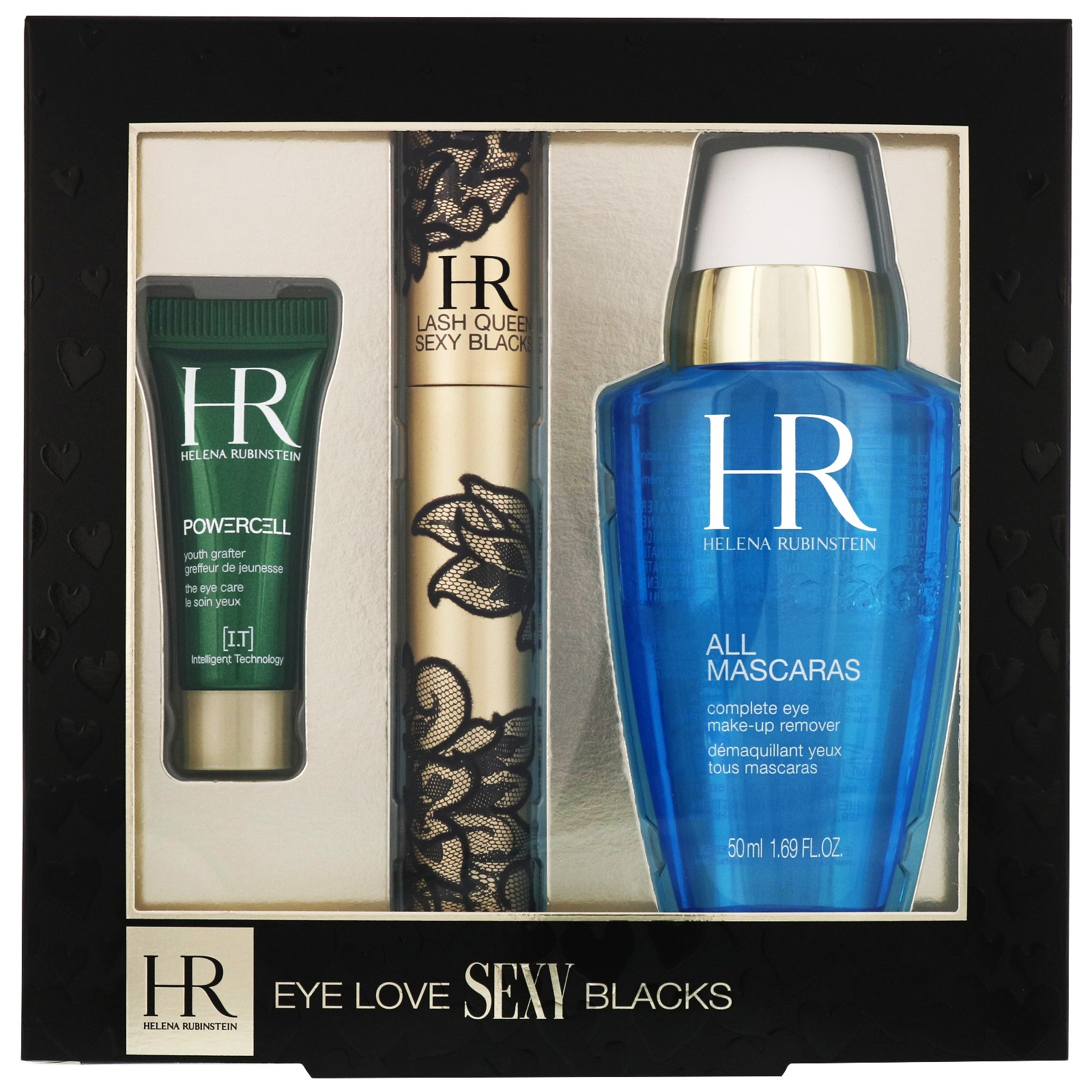 Helena Rubinstein Sets Eye Love Sexy Blacks