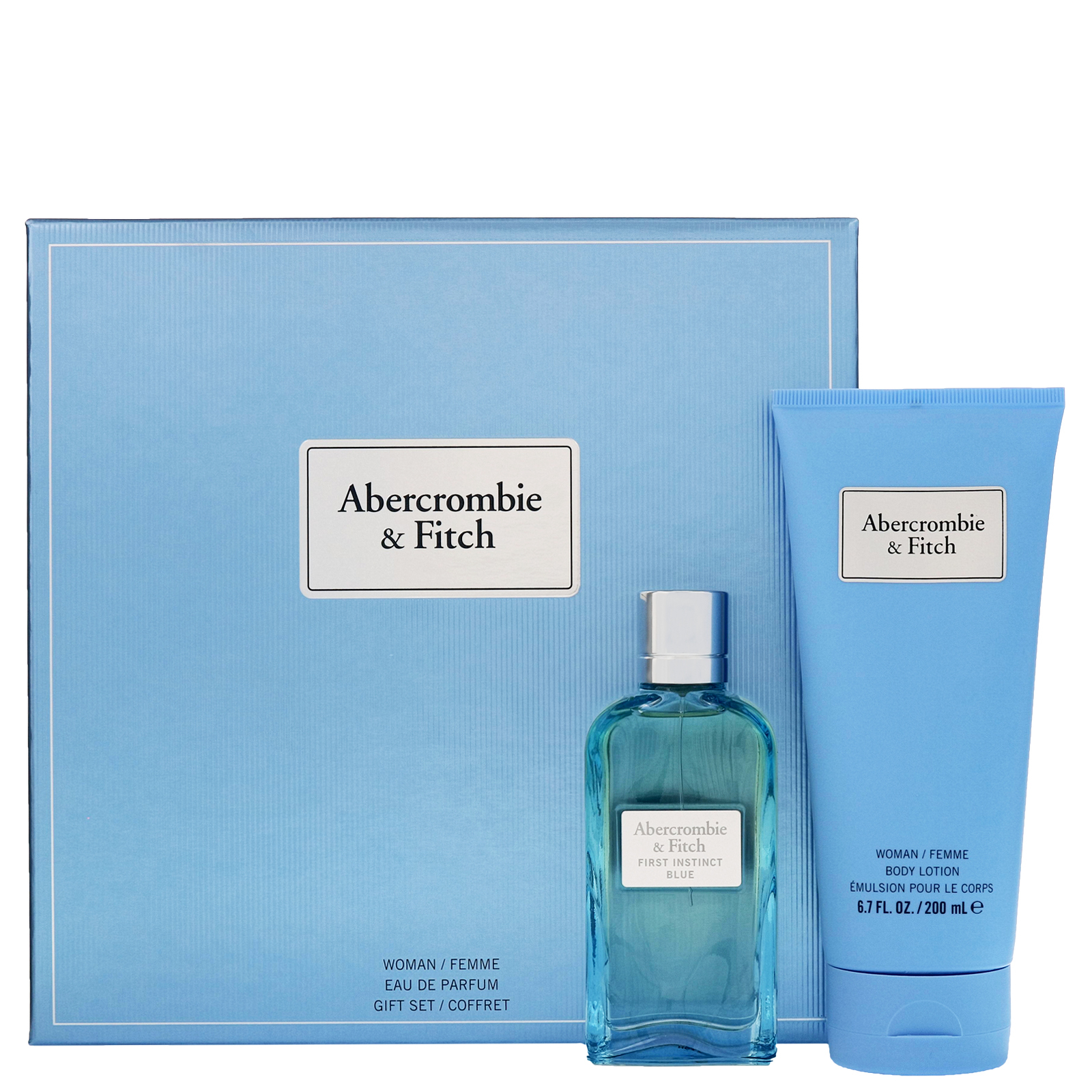 First Instinct Blue Woman EdP 50 ml Abercrombie & Fitch