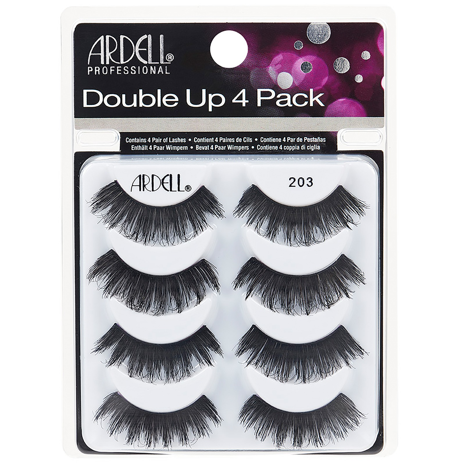Ardell Multipack Double Up 203 Pack of 4 Pairs