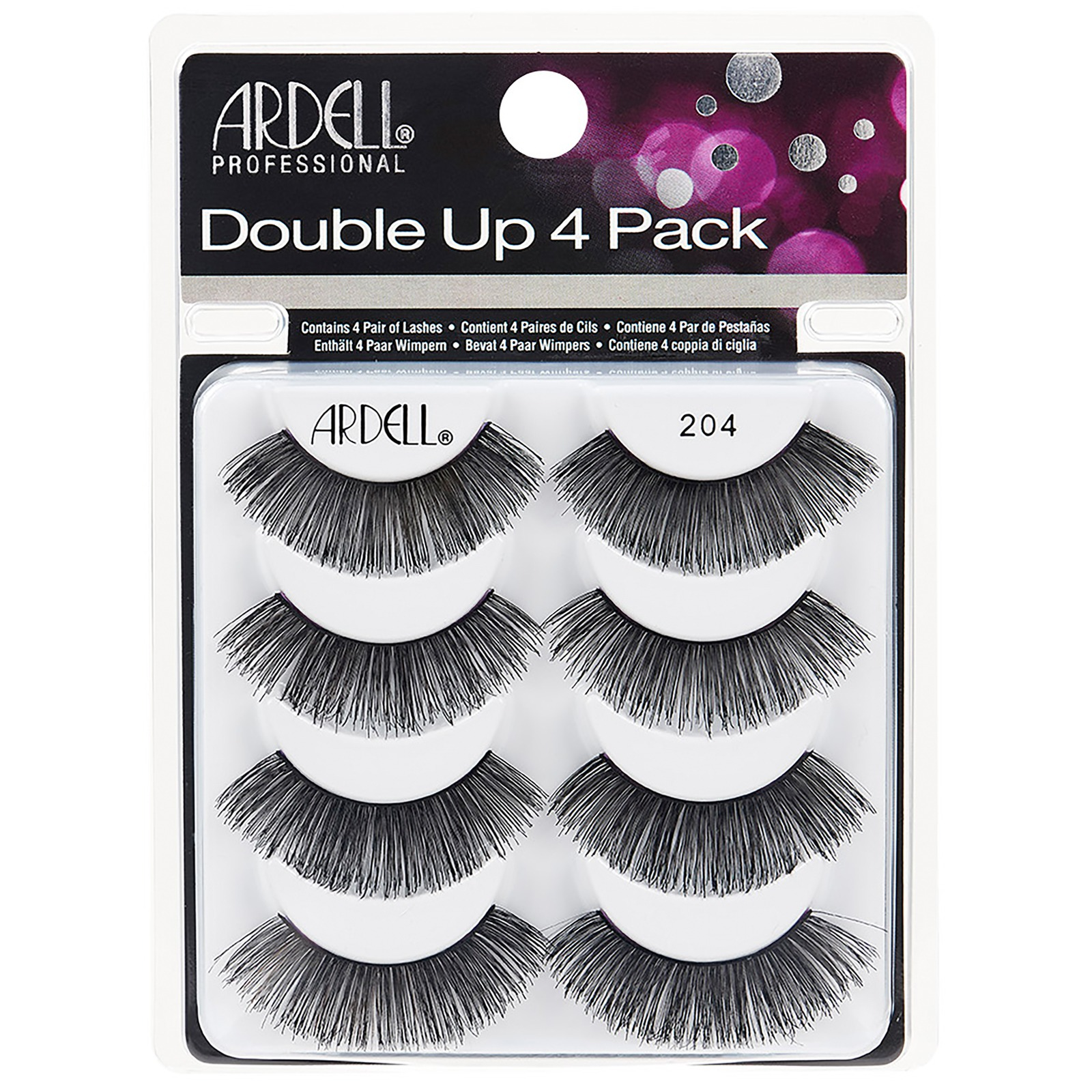 Ardell Multipack Double Up 204 Pack of 4 Pairs