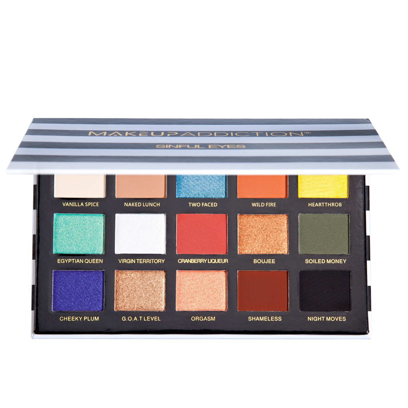Makeup Addiction Eyeshadow Palettes Sinful Eyes Palette