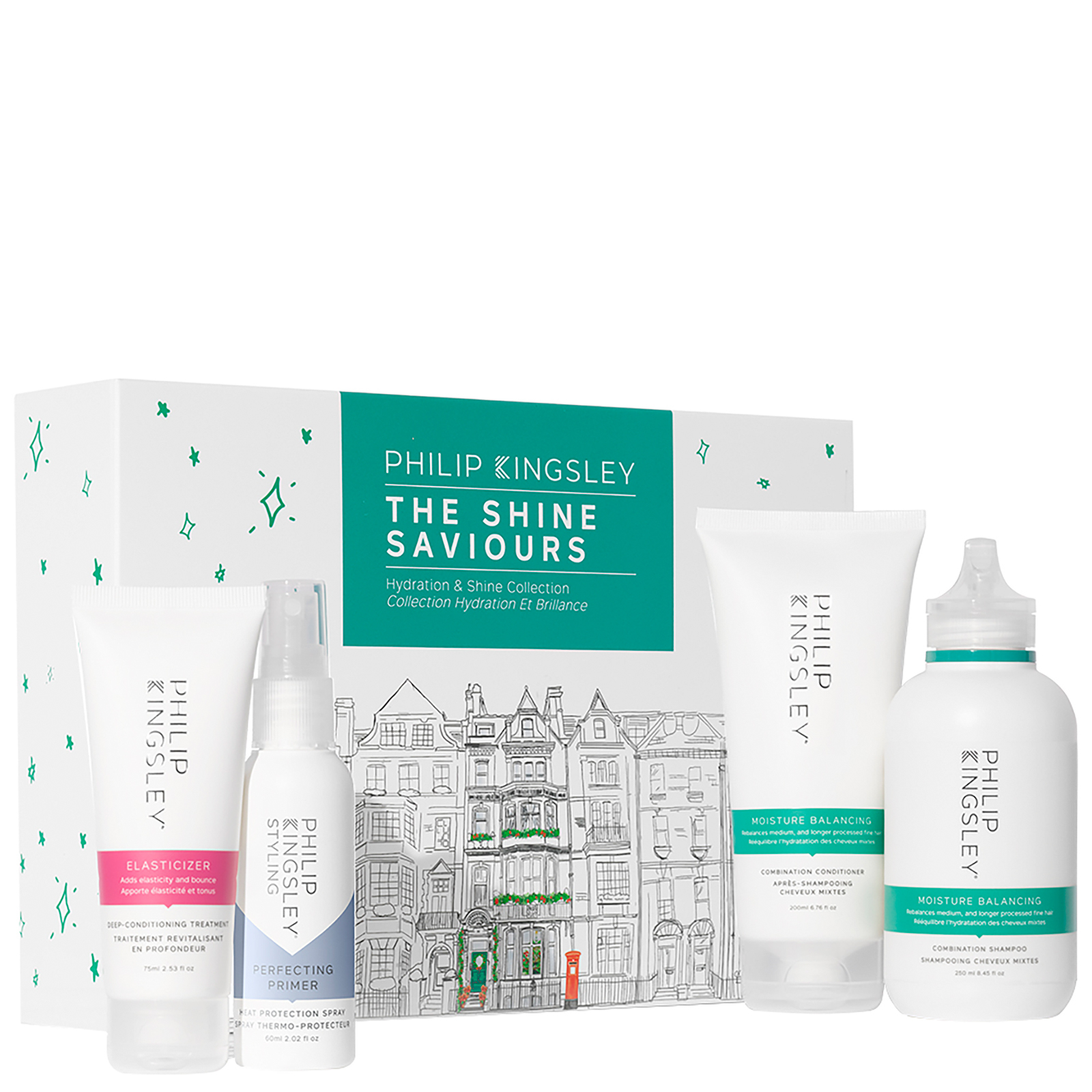 Philip Kingsley Kits The Shine Saviours Hydration & Shine Collection (Worth £70.00)