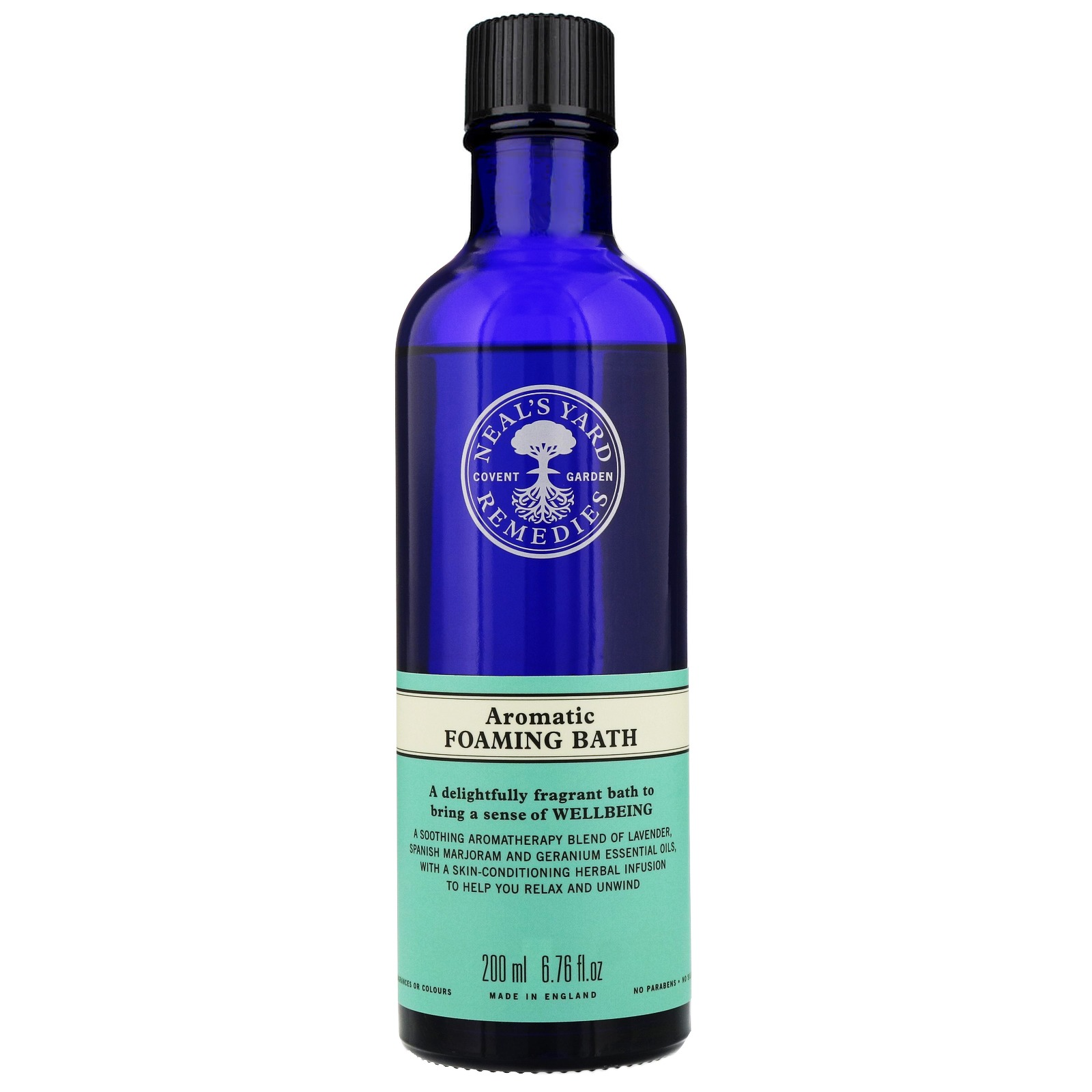 Neal's Yard Remedies Foams, Salts & Oils Aromatic Foaming Bath 200ml