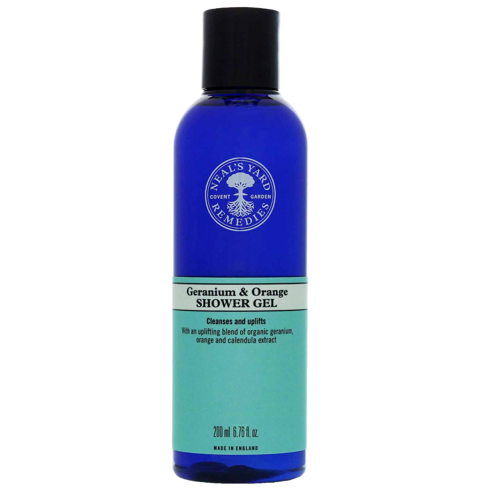 Neal's Yard Remedies Shower Gels & Soaps Geranium & Orange Shower Gel 200ml
