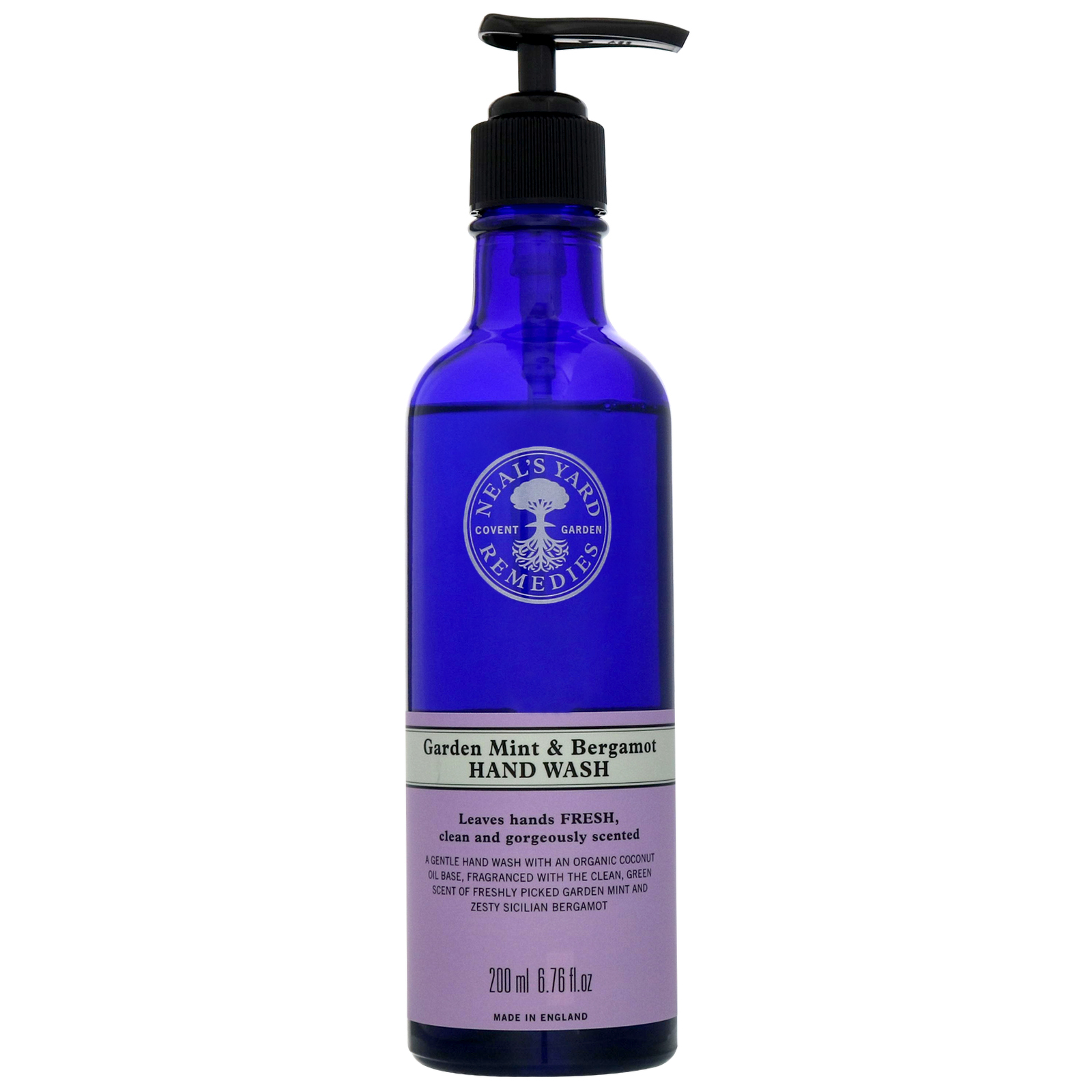 Neal's Yard Remedies Hand Care Garden Mint & Bergamot Hand Wash 200ml