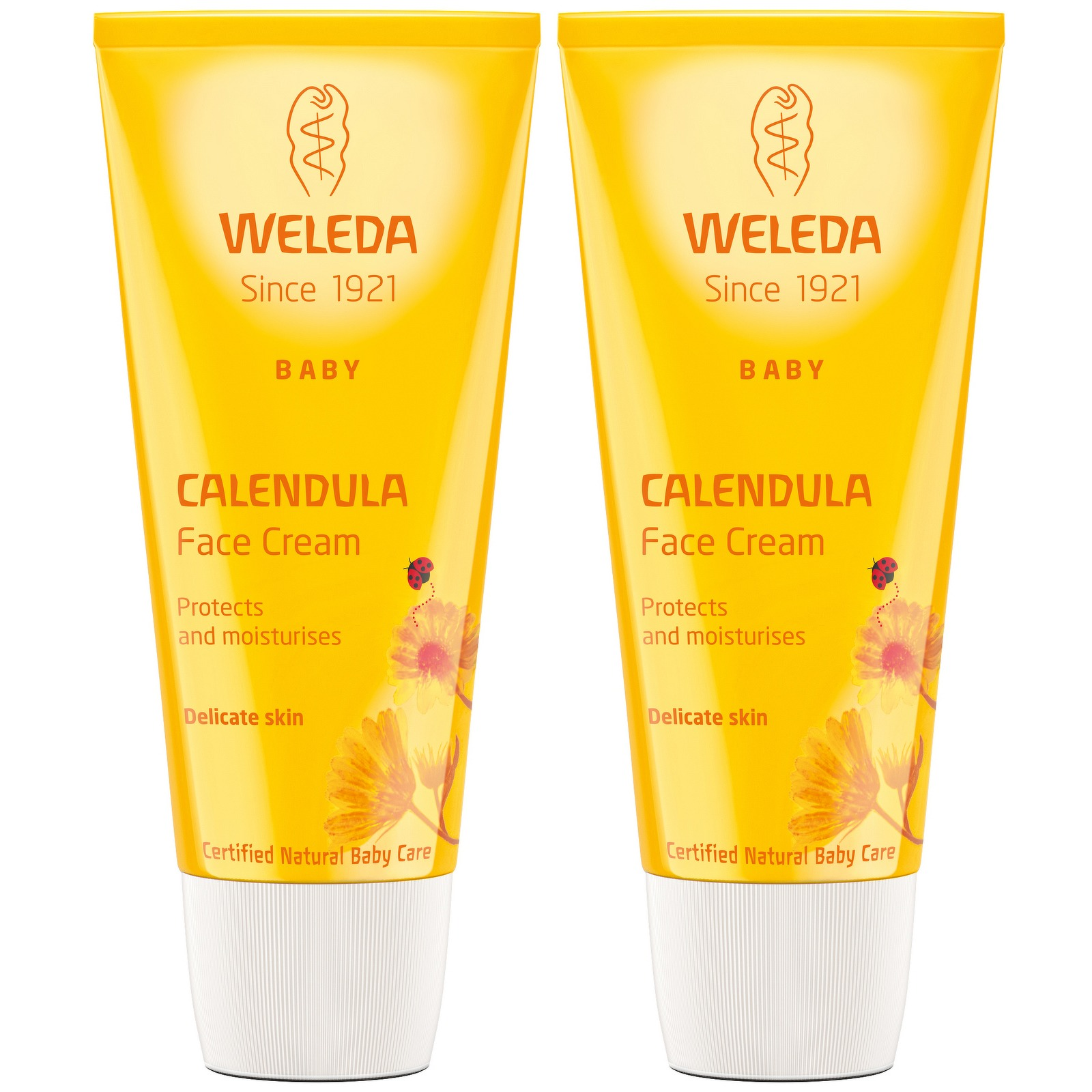 Weleda Mother & Child Calendula Face Cream 50ml x 2