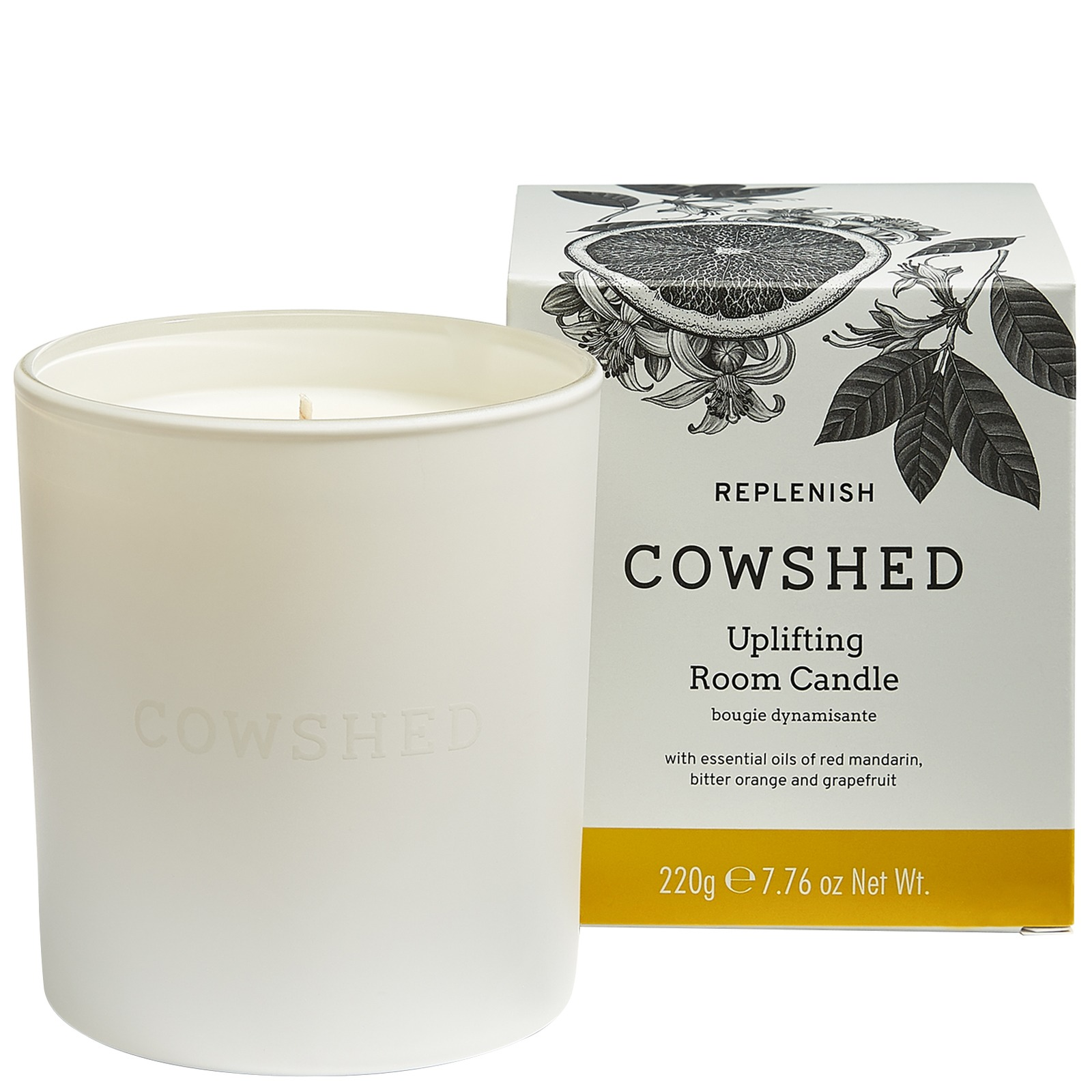 Cowshed At Home Replenish Uplifting Room Candle 220g