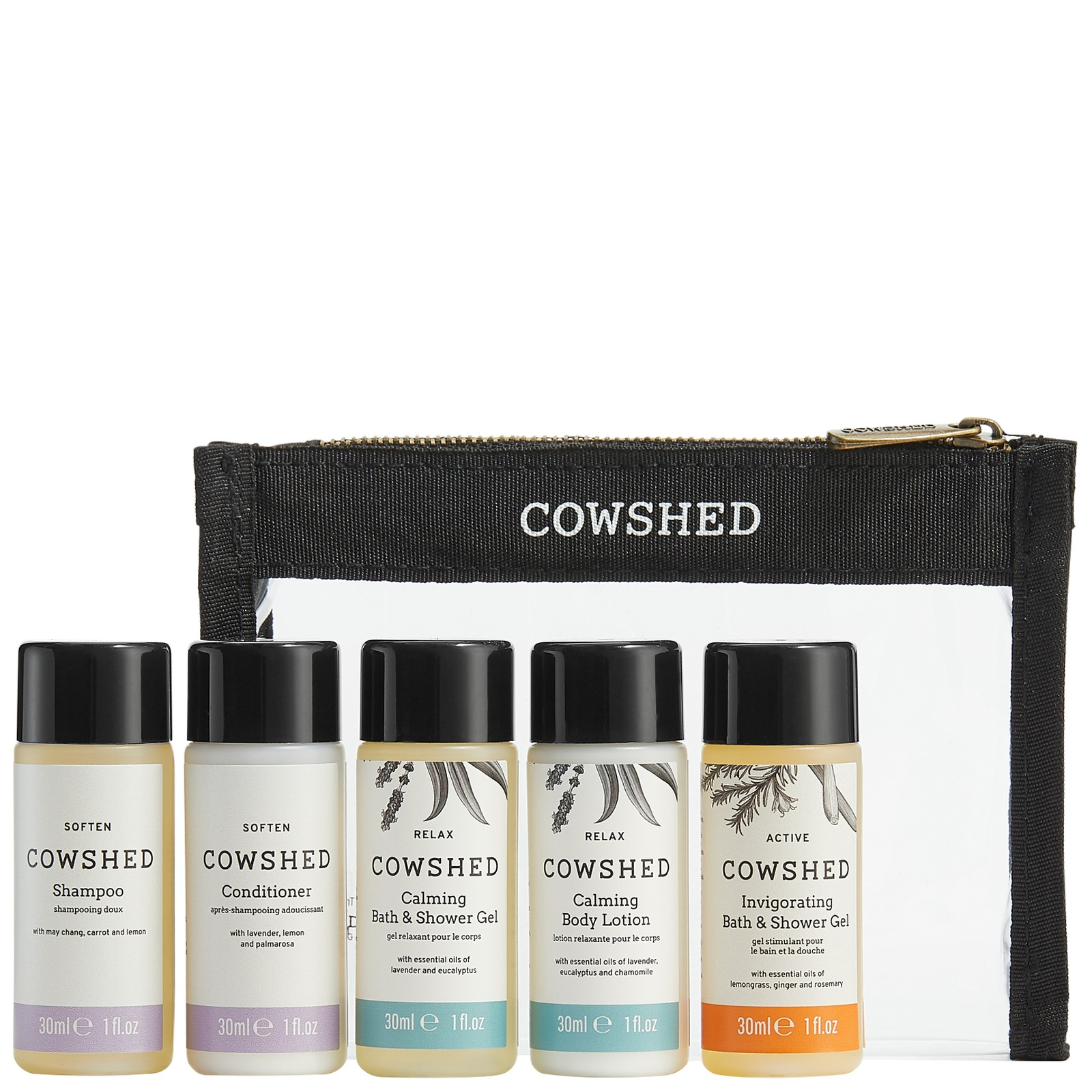 Cowshed Gifts & Collections Travel Set