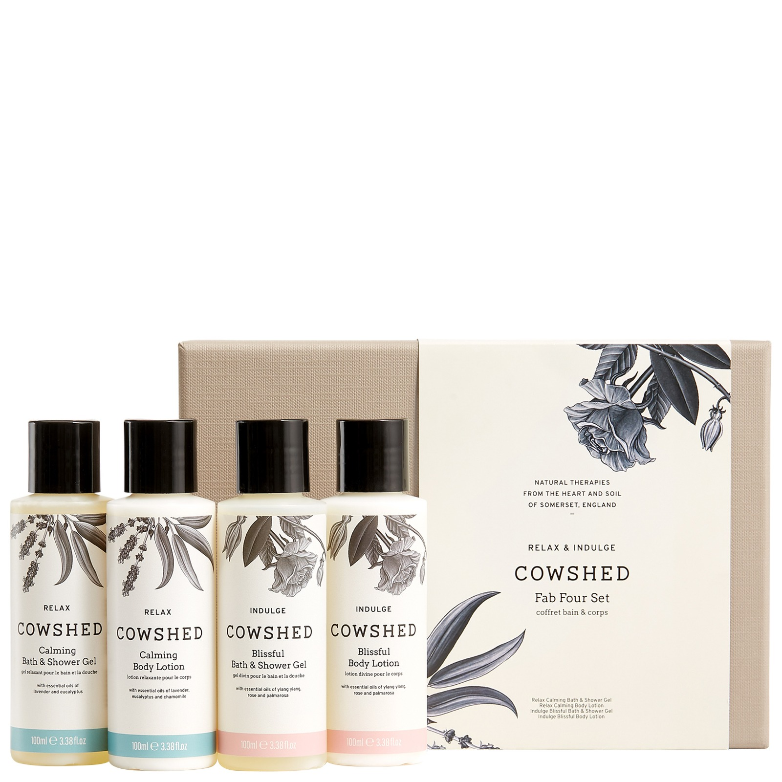 Cowshed Gifts & Collections Fab Four Set