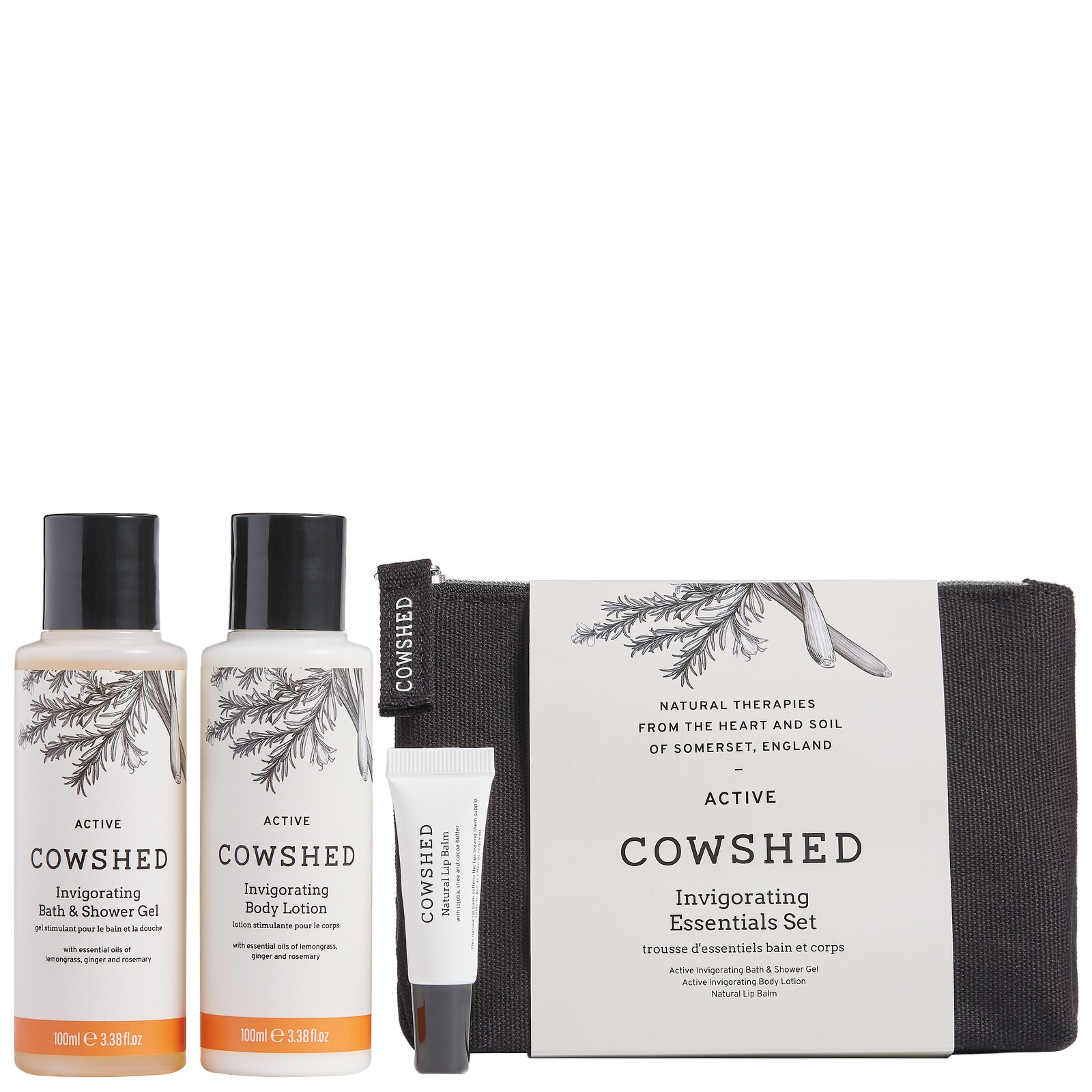 Cowshed Gifts & Collections Invigorating Essentials Set