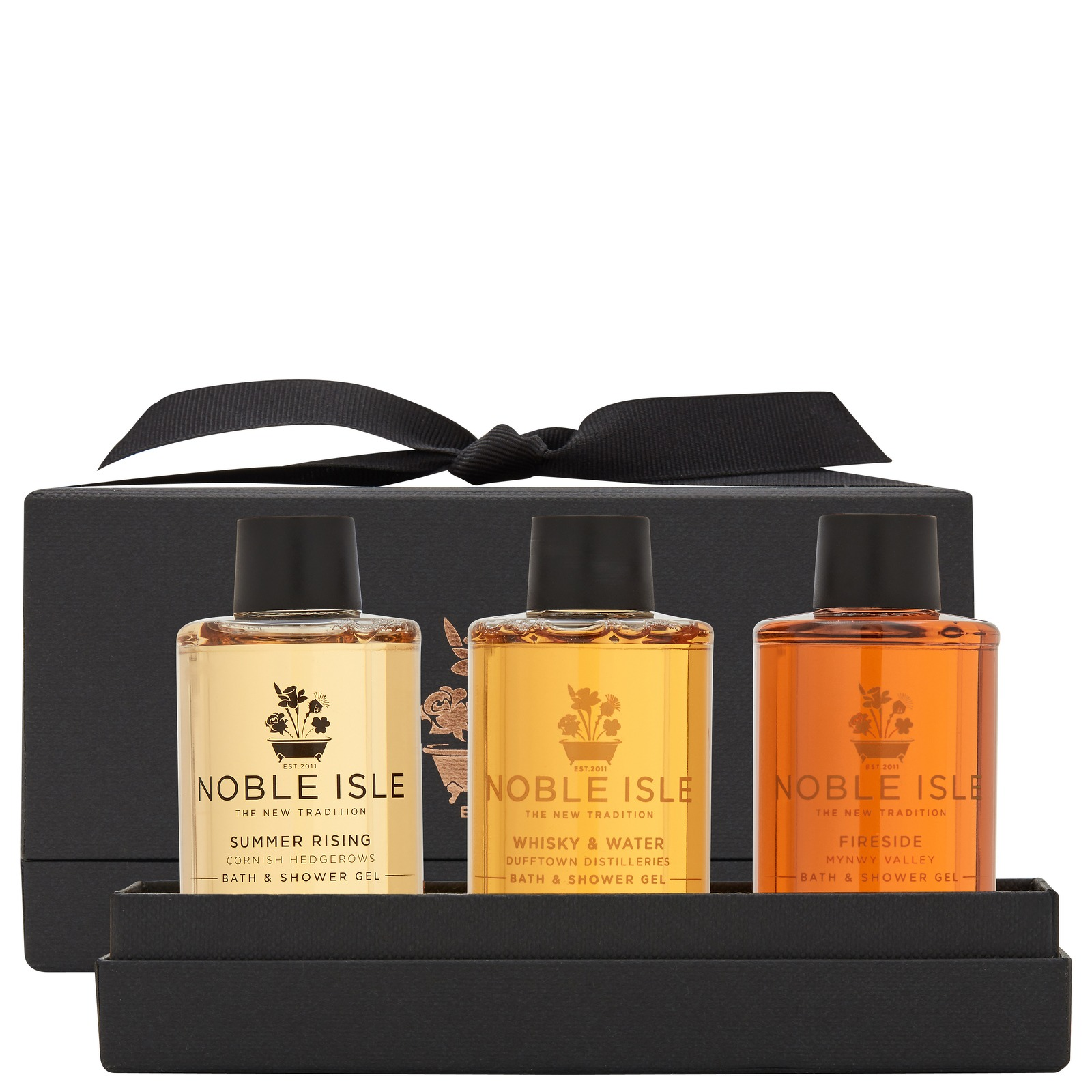 Noble Isle Gift Sets Warm & Spicy Bath & Shower Trio 3 x 75ml