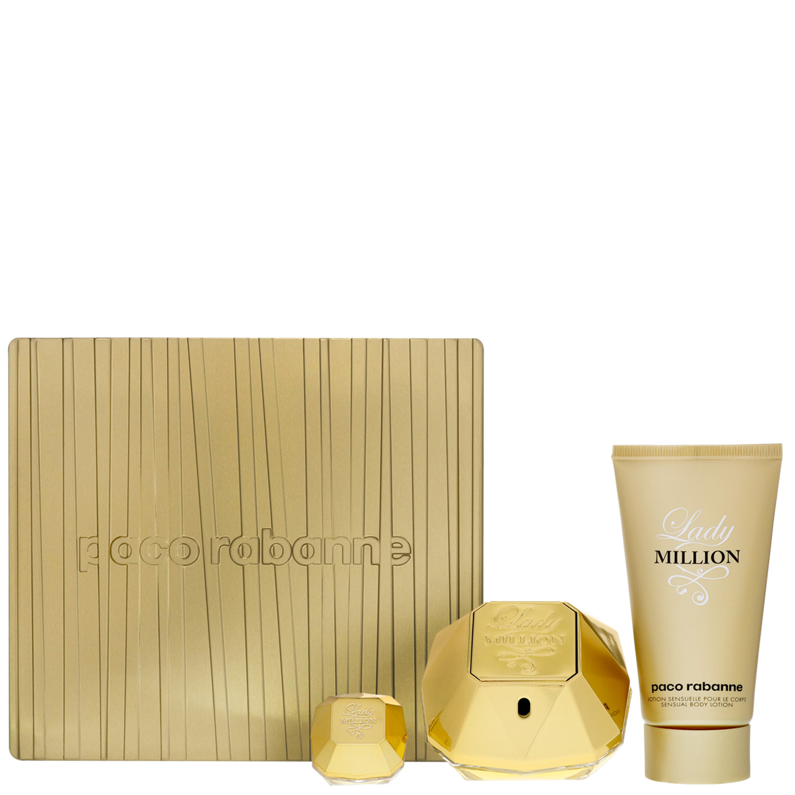 Paco Rabanne Lady Million Eau de Parfum Spray 50ml Gift Set
