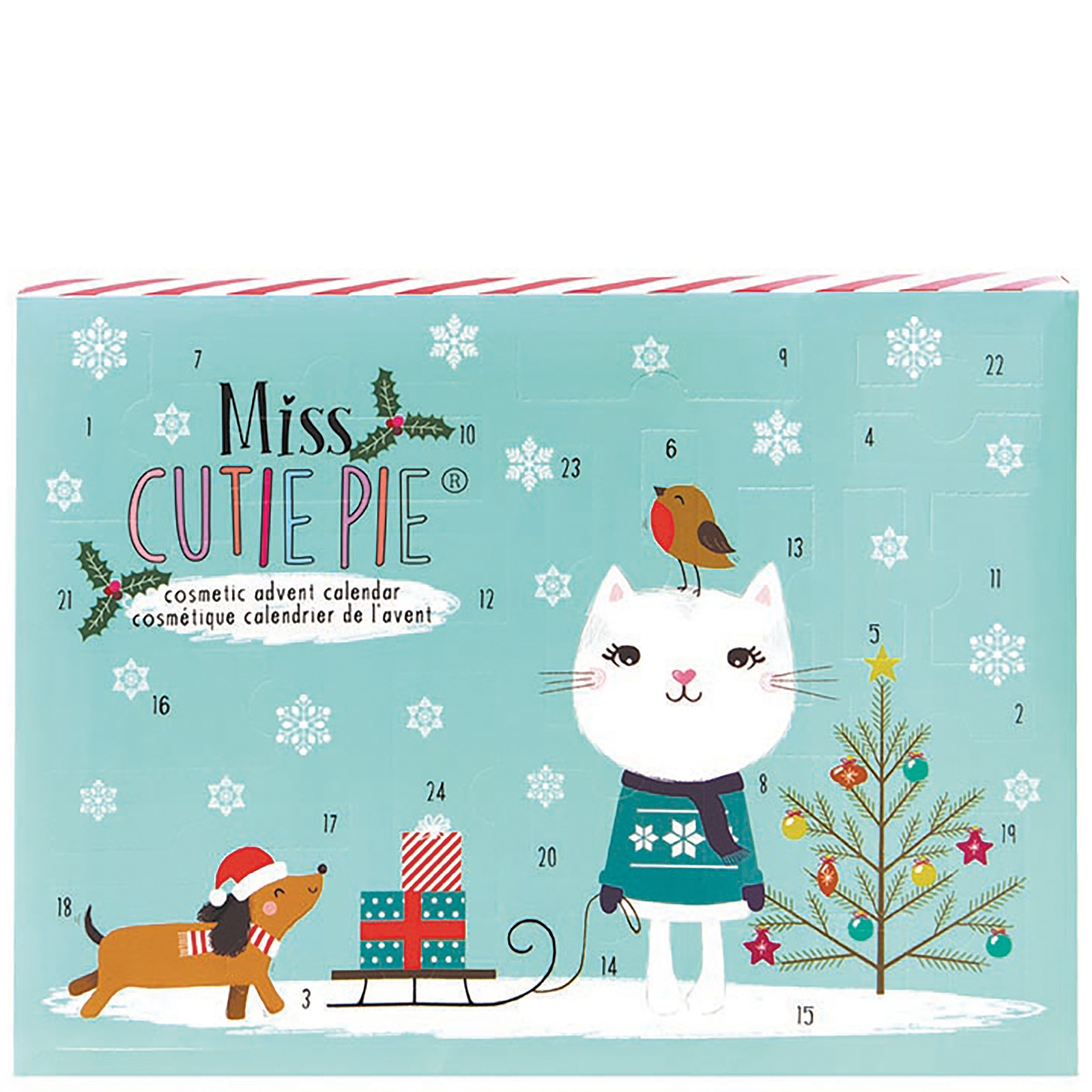 Cosmetic Advent Calendar by Miss Cutie Pie