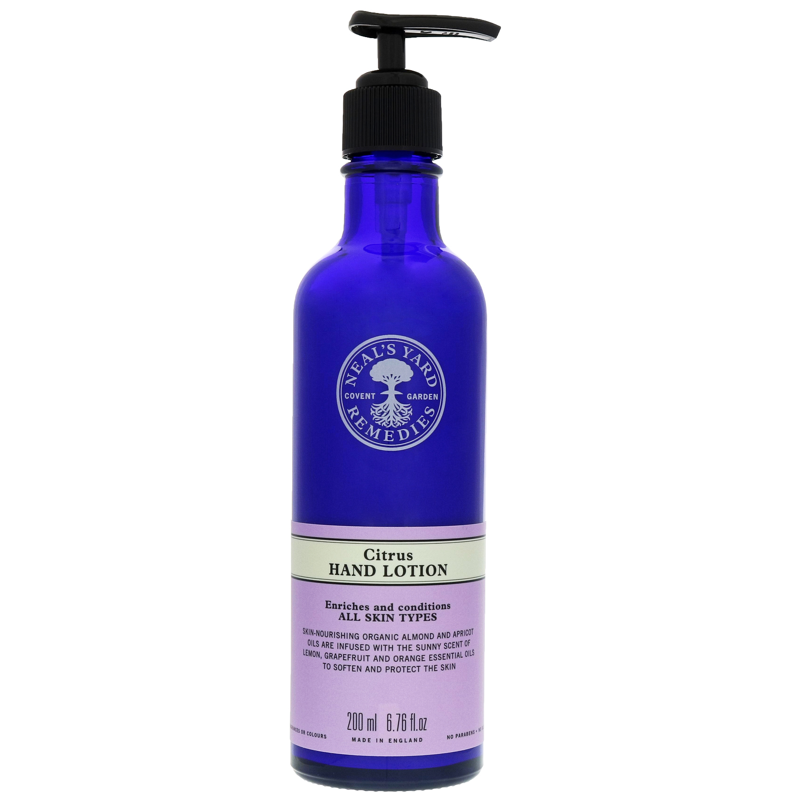 Neal's Yard Remedies Hand Care Citrus Hand Lotion 200ml