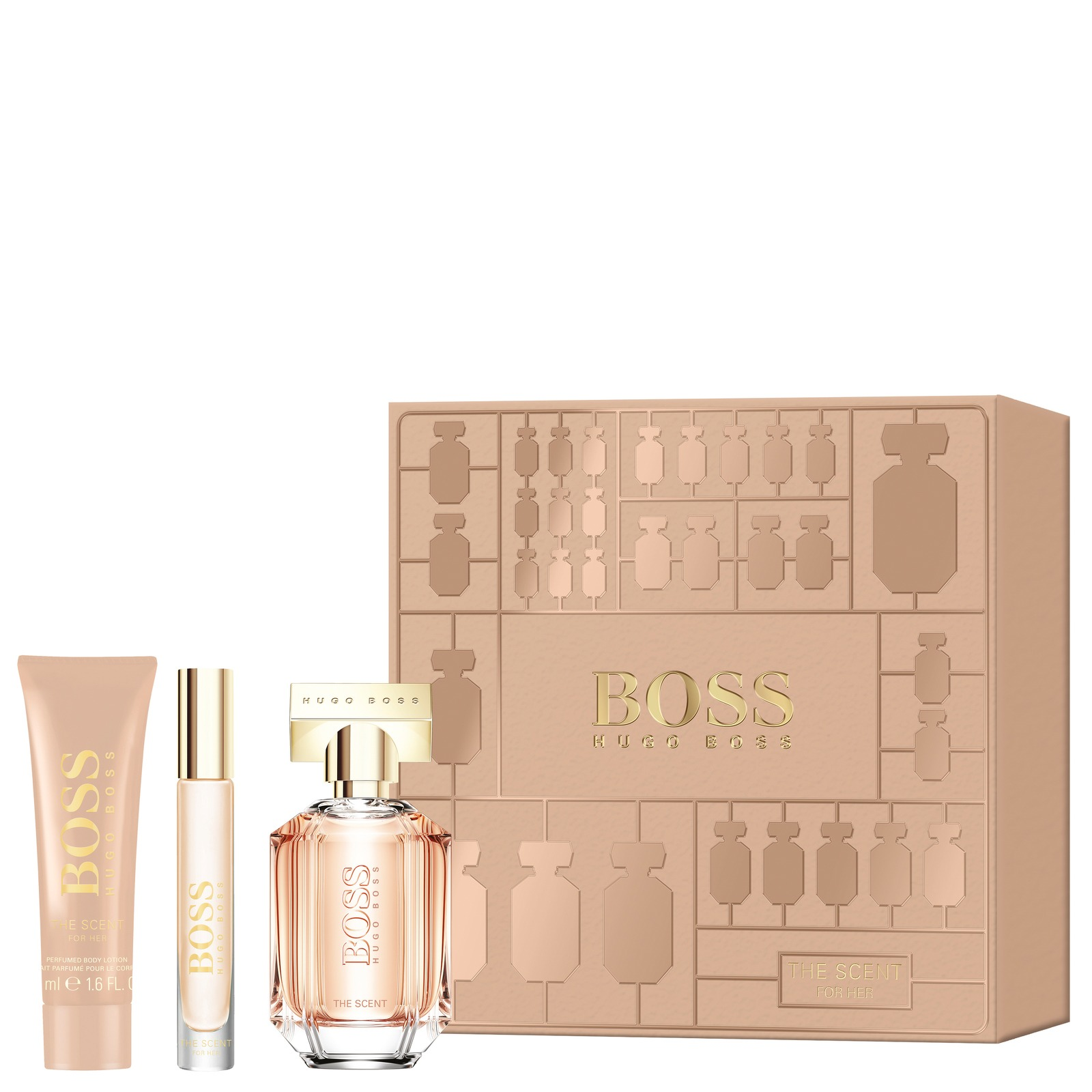 where can i buy professional sale hot sale Hugo Boss Boss The Scent For Her Eau de Parfum Spray 50ml Gift Set
