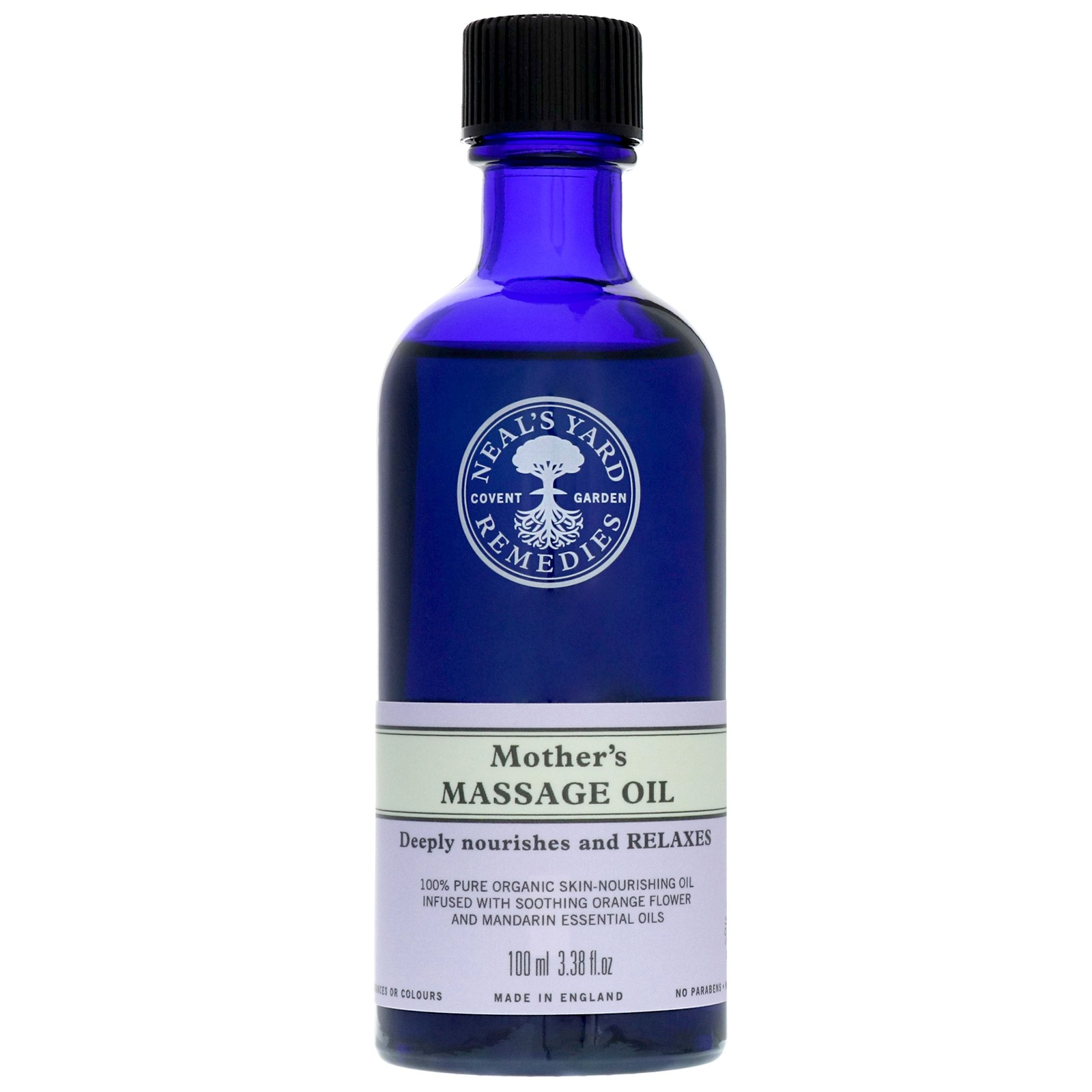 Neal's Yard Remedies Caring For Mum Mother's Massage Oil 100ml