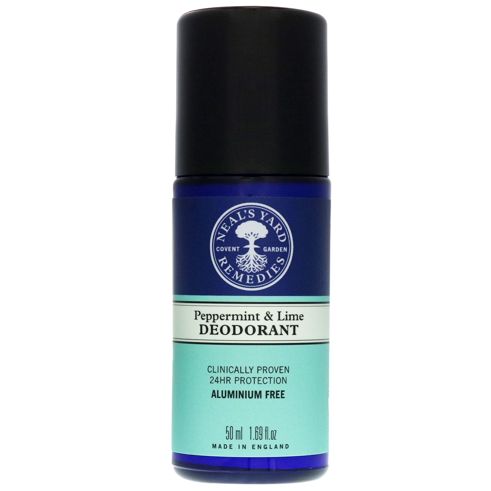 Neal's Yard Remedies Deodorant Peppermint & Lime Roll-On Deodorant 50ml