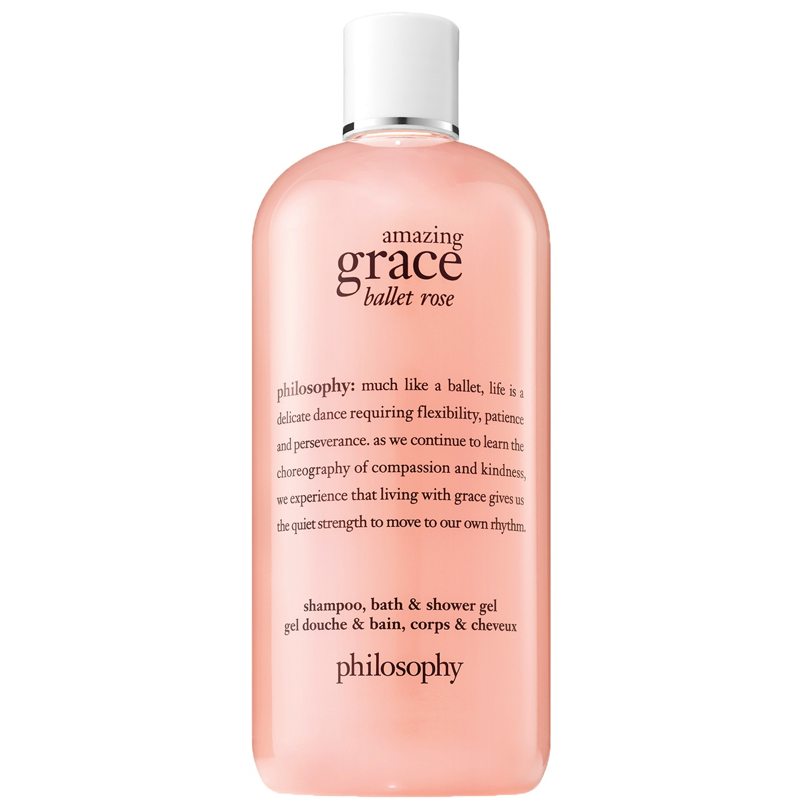 philosophy Amazing Grace Ballet Rose Shampoo, Bath & Shower Gel 480ml