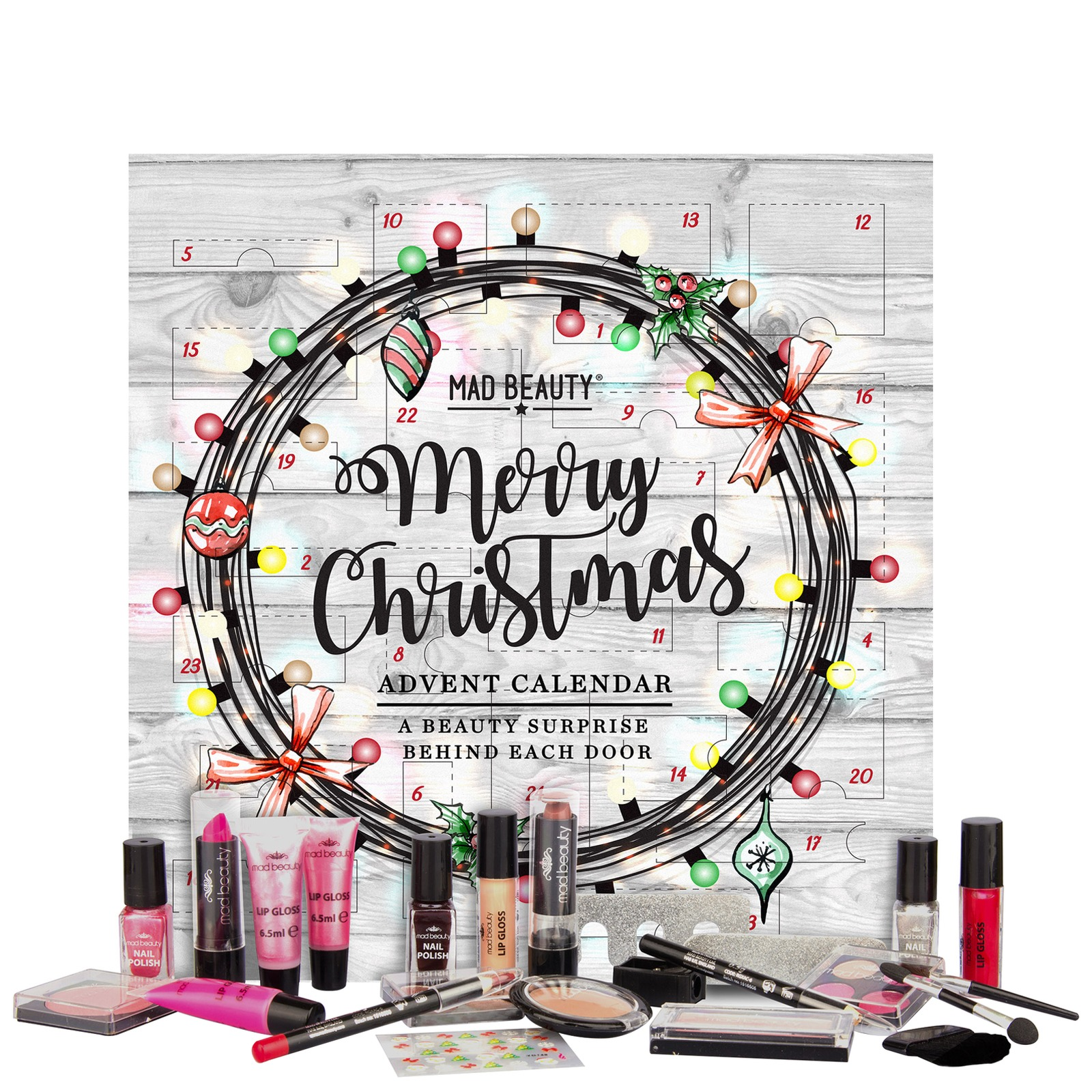 Merry Christmas Advent Calendar by Mad Beauty