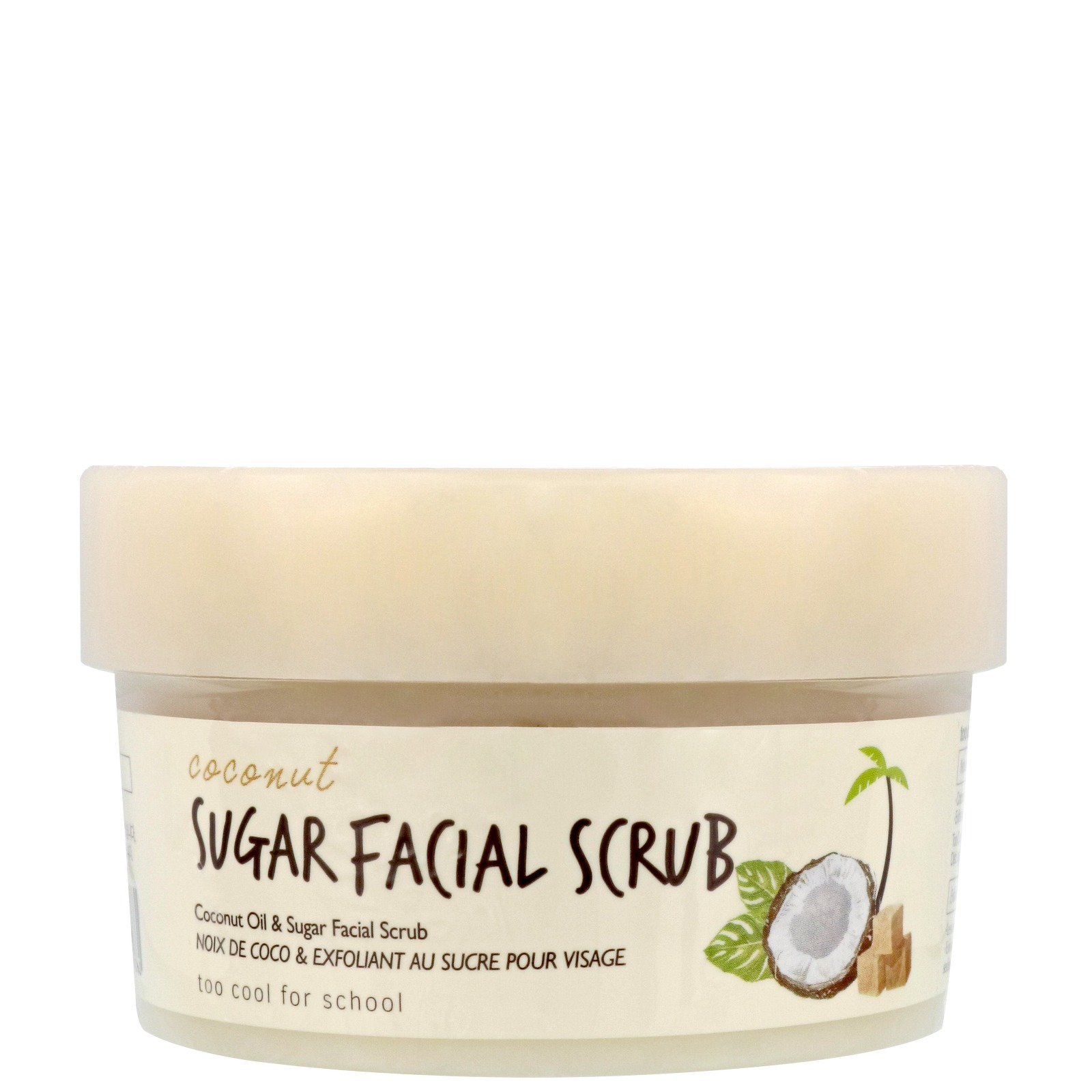 too cool for school Skincare Coconut Sugar Facial Scrub 100ml