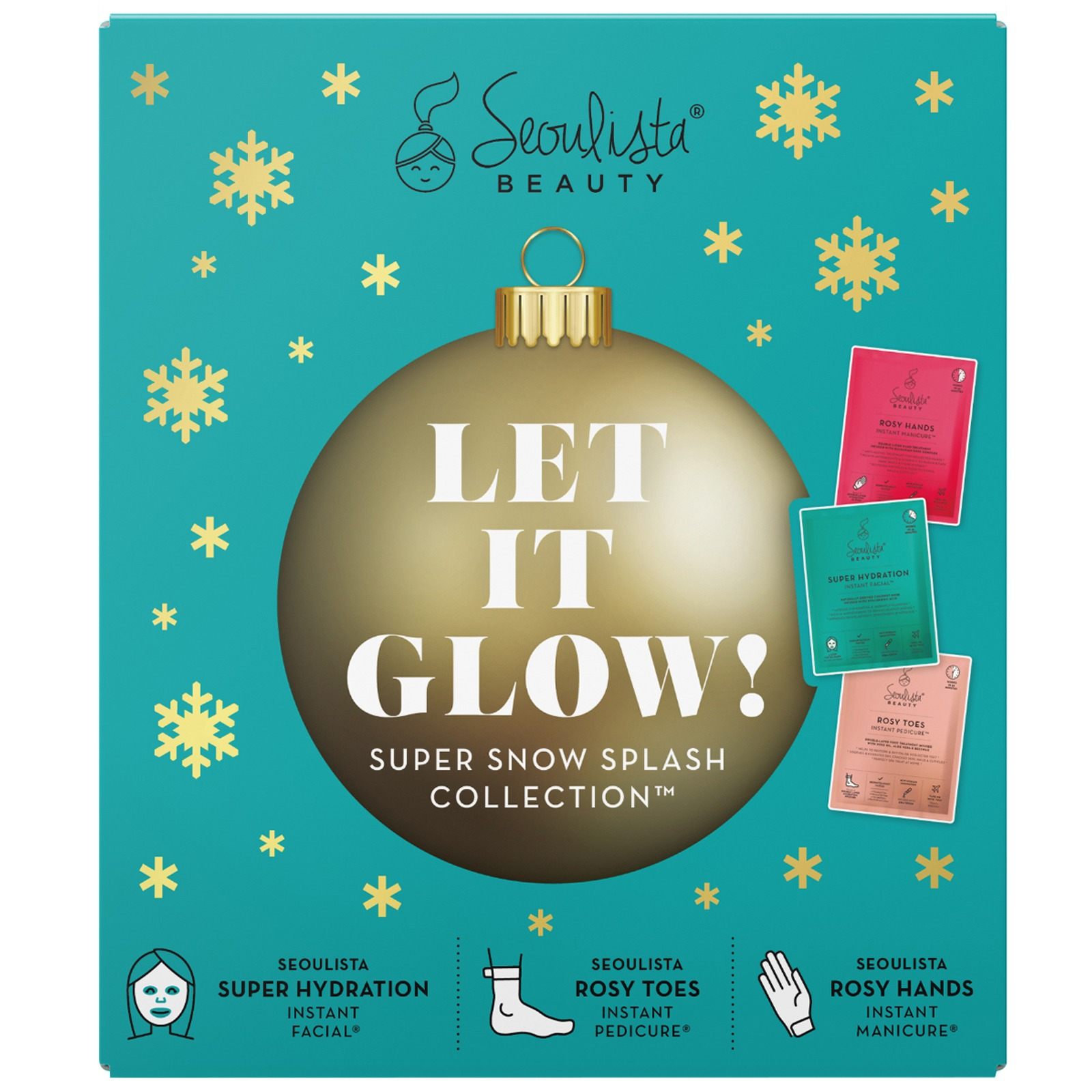 Seoulista Beauty Gifts & Sets Super Snow Splash Collection