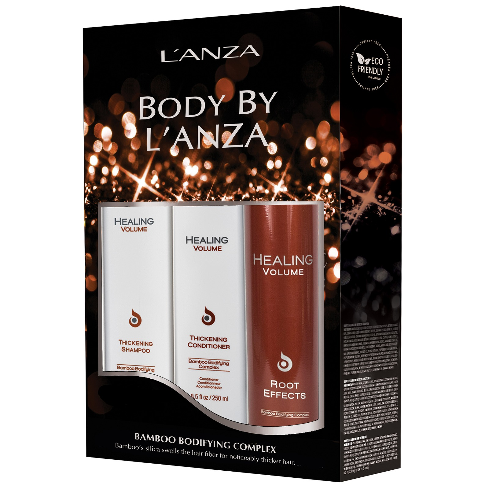 L'Anza Gifts & Sets Healing Volume Holiday Trio (Worth £70.00)