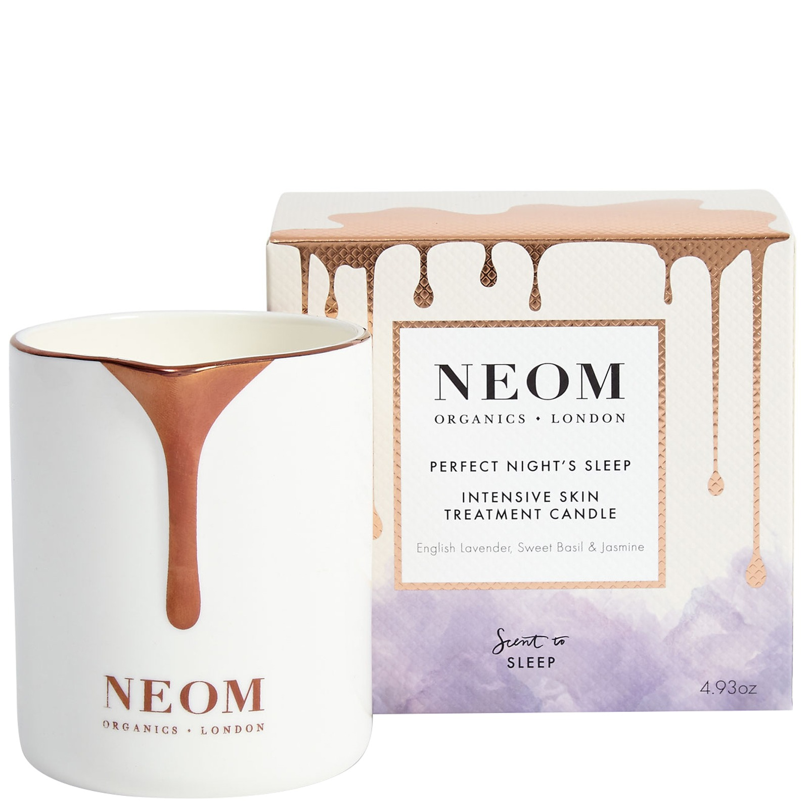 Neom Organics London Scent To Sleep Perfect Night's Sleep Intensive Skin Treatment Candle 140g