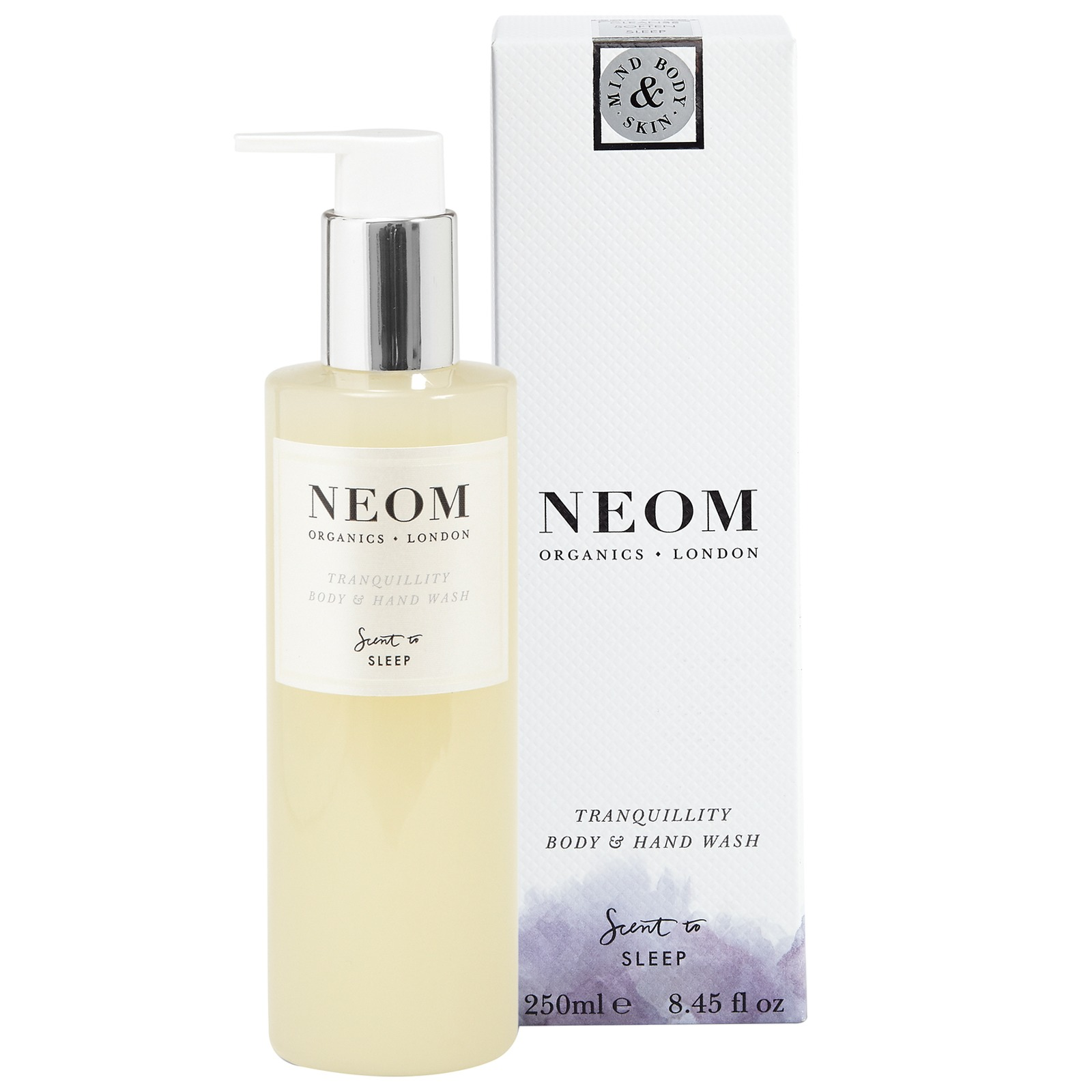Neom Organics London Scent To Sleep Tranquillity Body and Hand Wash 250ml
