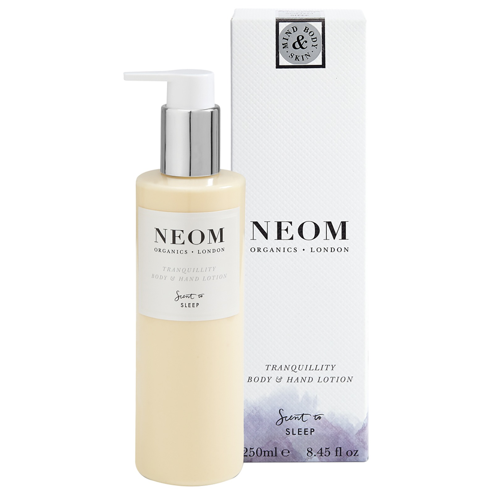 Neom Organics London Scent To Sleep Tranquillity Body and Hand Lotion 250ml