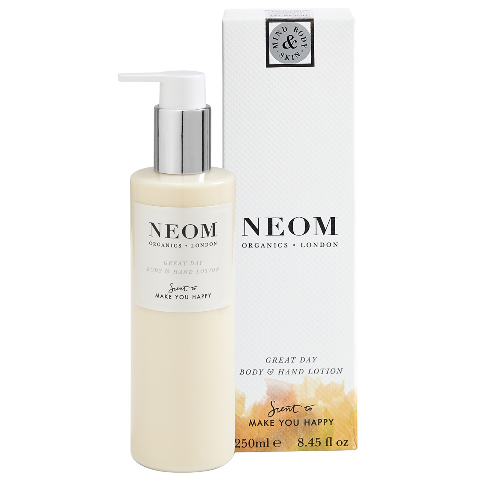 Neom Organics London Scent To Make You Happy Great Day Body & Hand Lotion 250ml