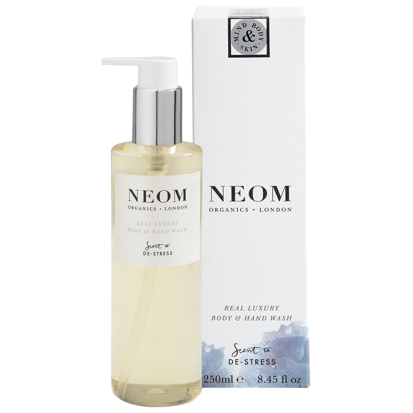 Neom Organics London Scent To De-Stress Real Luxury Body & Hand Wash 250ml