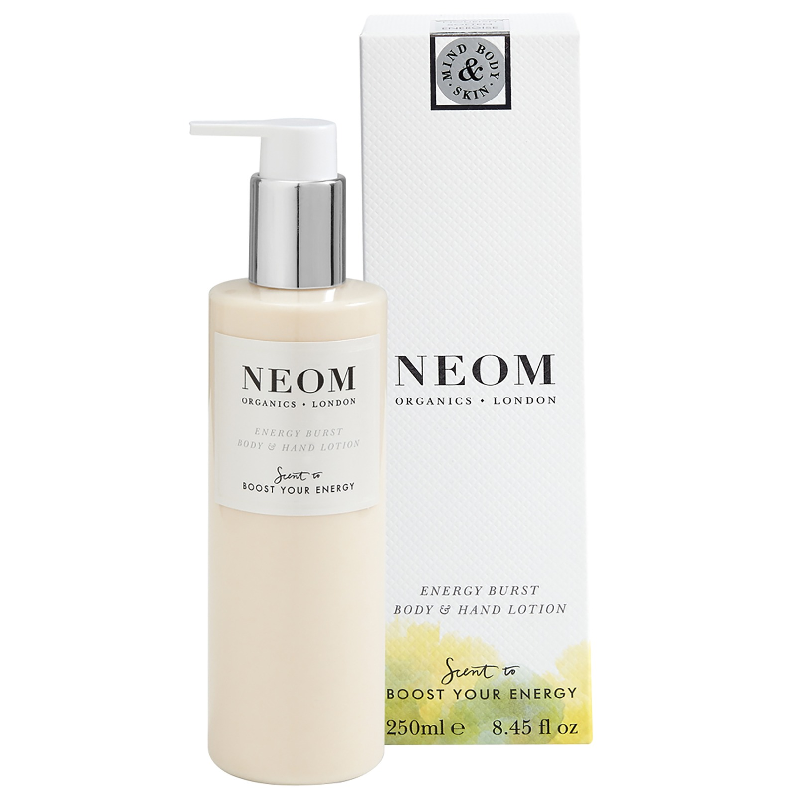 Neom Organics London Scent To Boost Your Energy Energy Burst Body & Hand Lotion 250ml