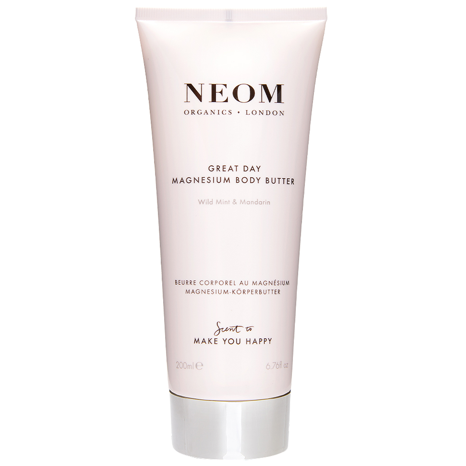 Neom Organics London Scent To Make You Happy Great Day Magnesium Body Butter 200ml