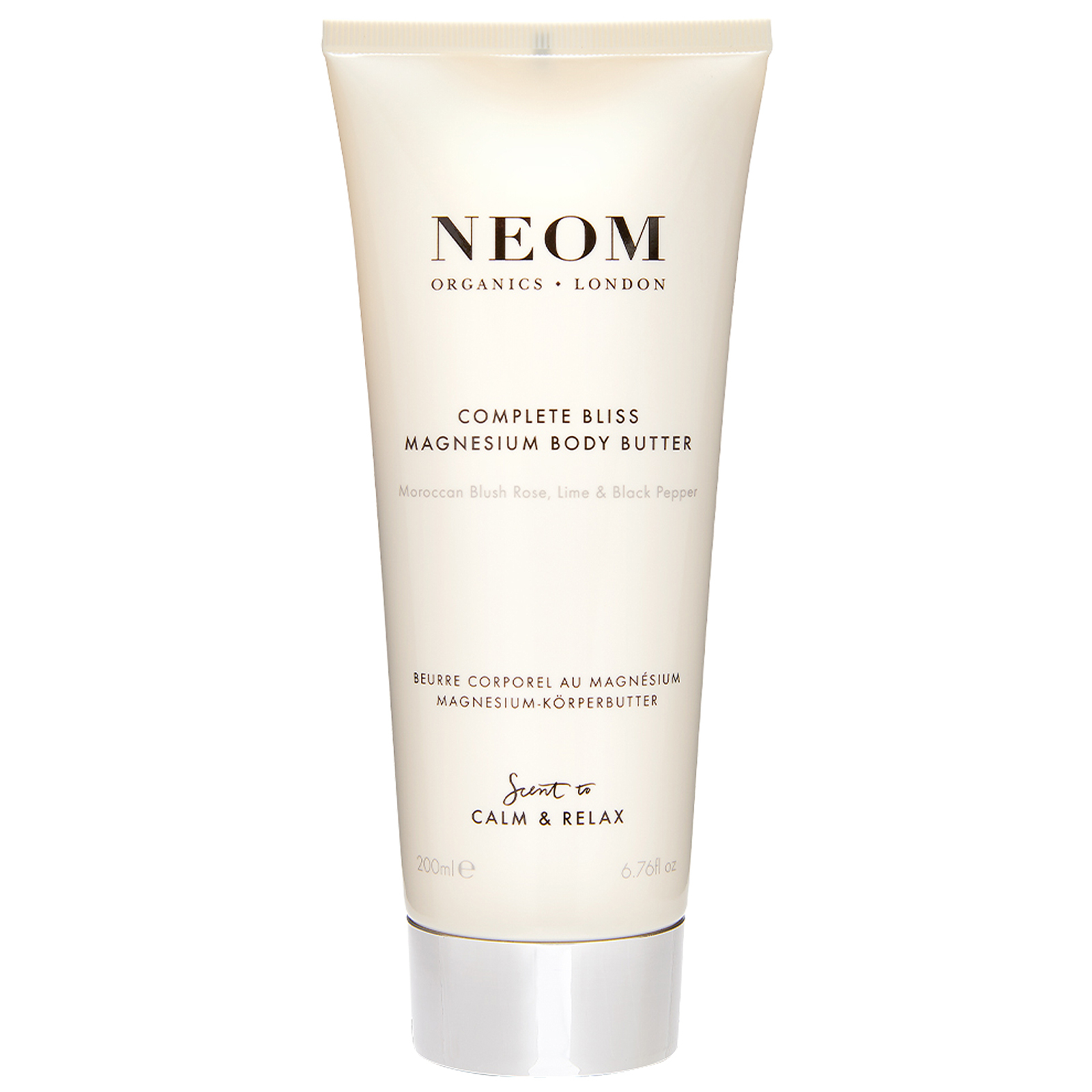 Neom Organics London Scent To Calm & Relax Complete Bliss Magnesium Body Butter 200ml