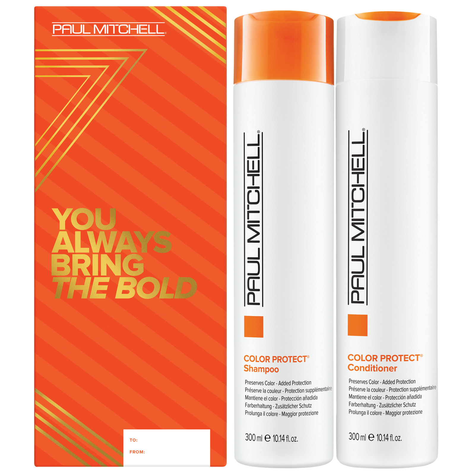 Paul Mitchell Christmas 2020 Color Protect Duo: You Always Bring The Bold