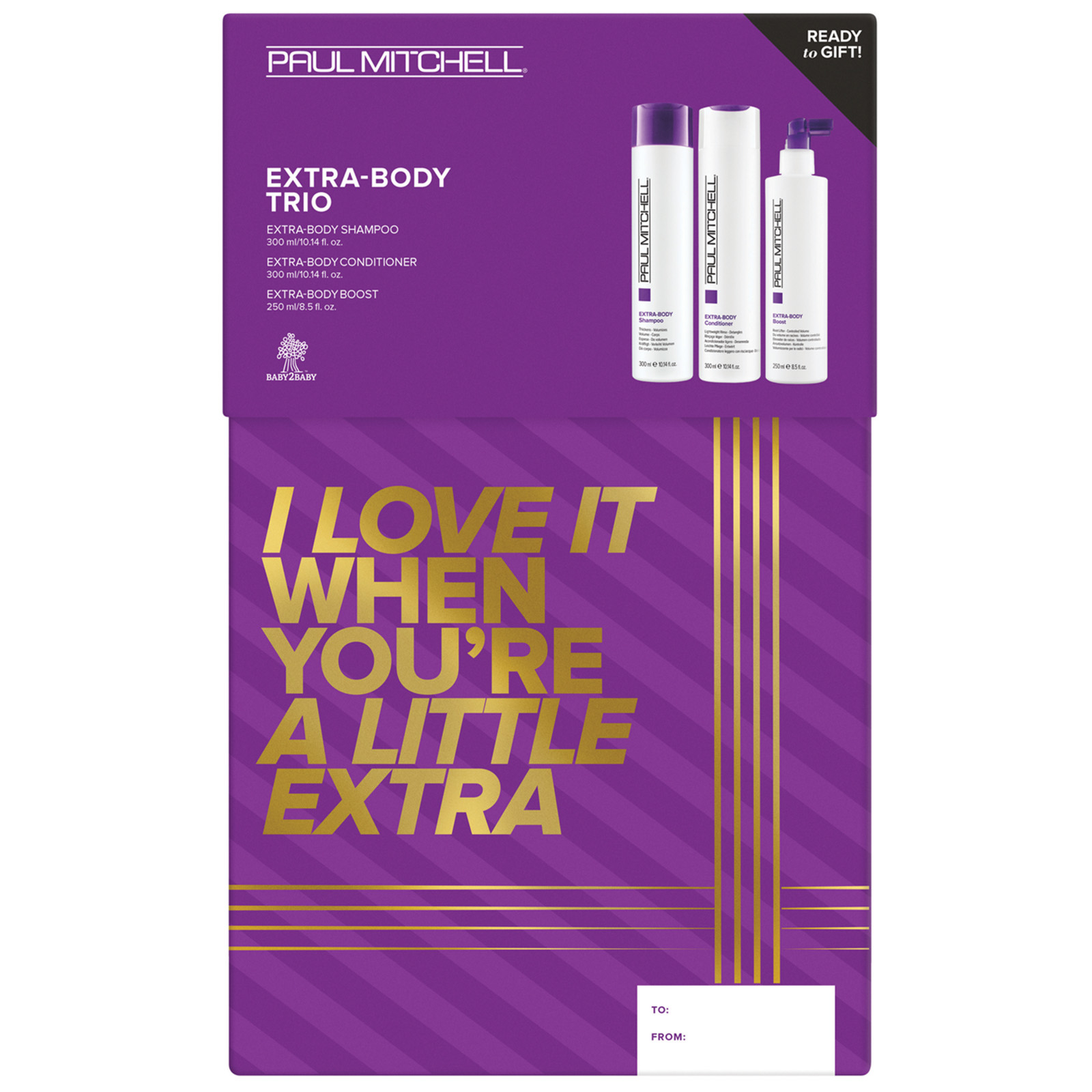 Paul Mitchell Gifts & Sets Extra-Body Trio: I Love it When You're A Little Extra