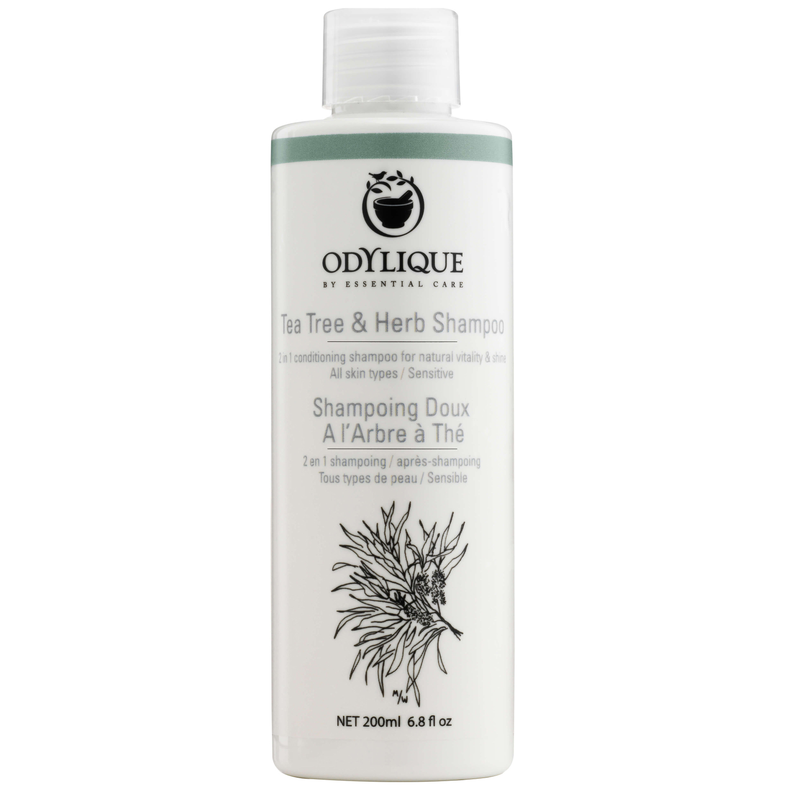 Odylique Hair Tea Tree & Herb Shampoo 200ml