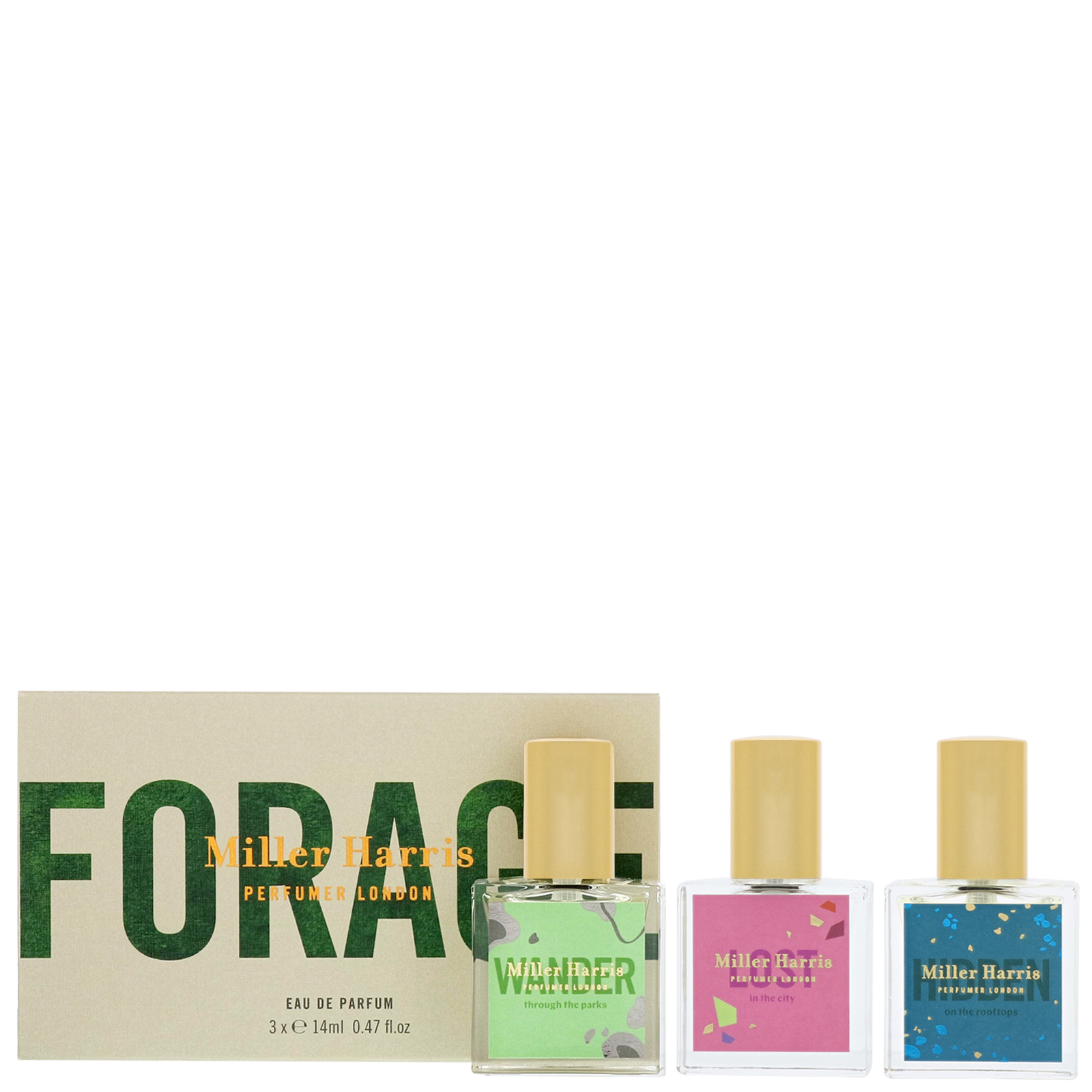 Miller Harris Forage Forage Trio Gift Set